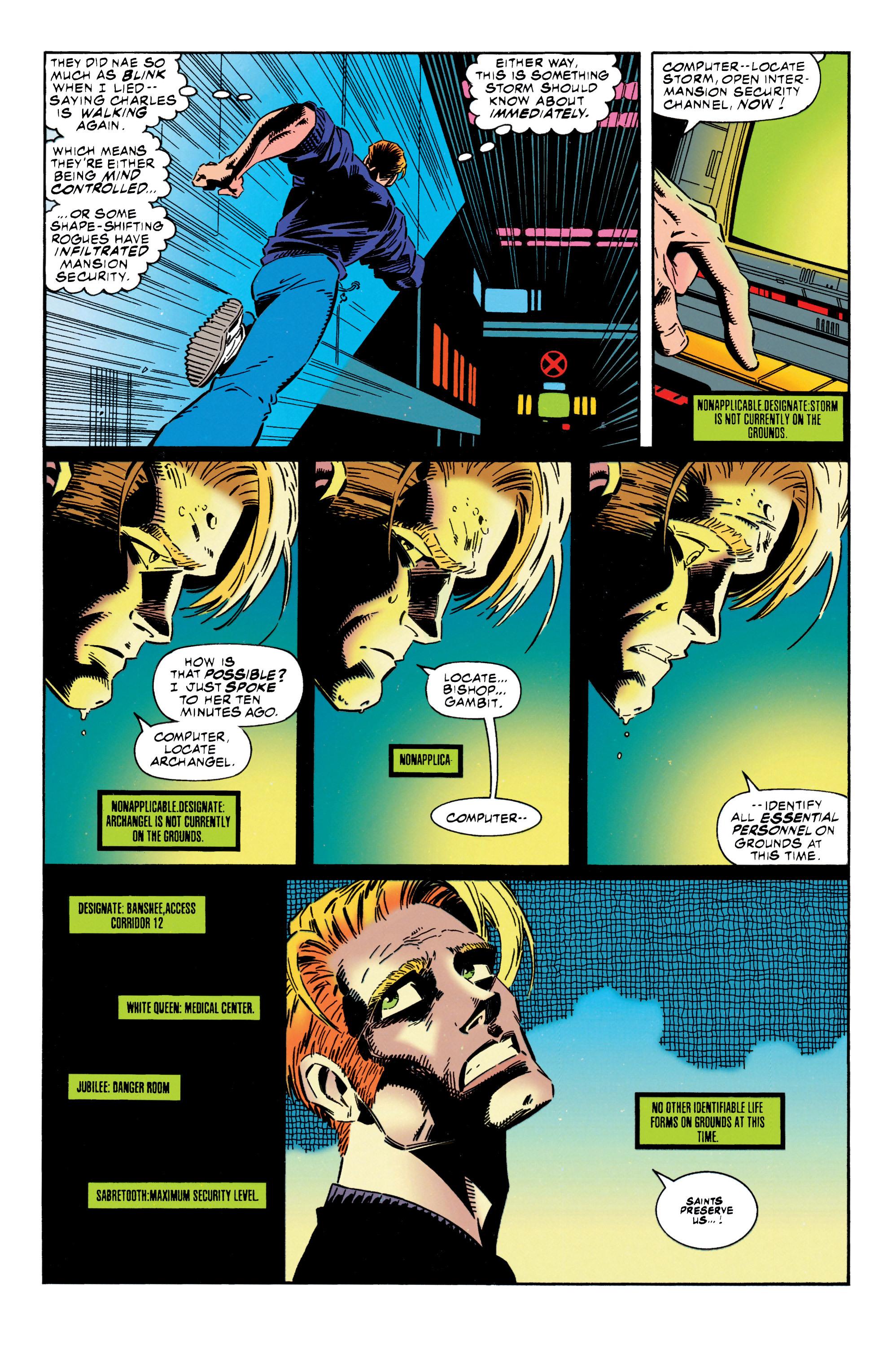 Read online Uncanny X-Men (1963) comic -  Issue #316 - 15