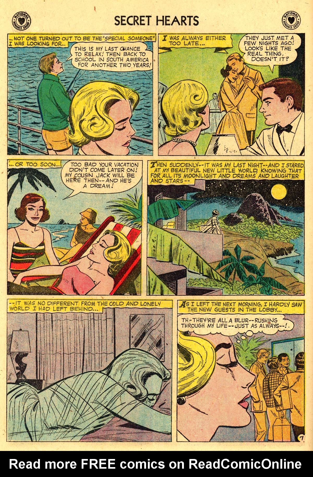 Read online Secret Hearts comic -  Issue #57 - 16