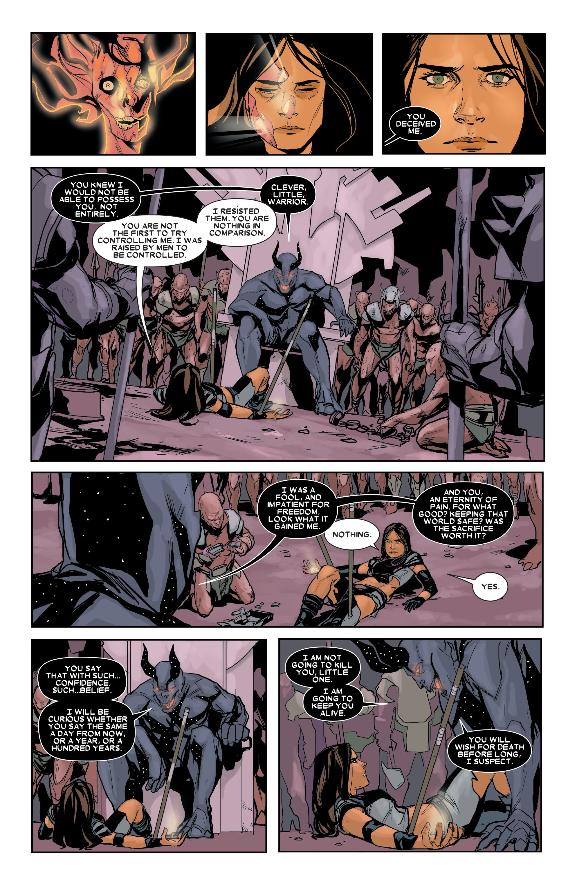 Read online X-23 (2010) comic -  Issue #16 - 11