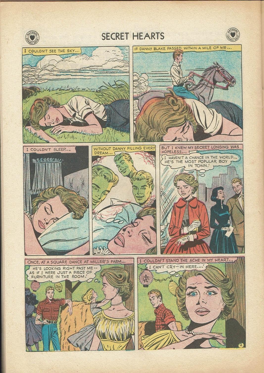 Read online Secret Hearts comic -  Issue #47 - 28