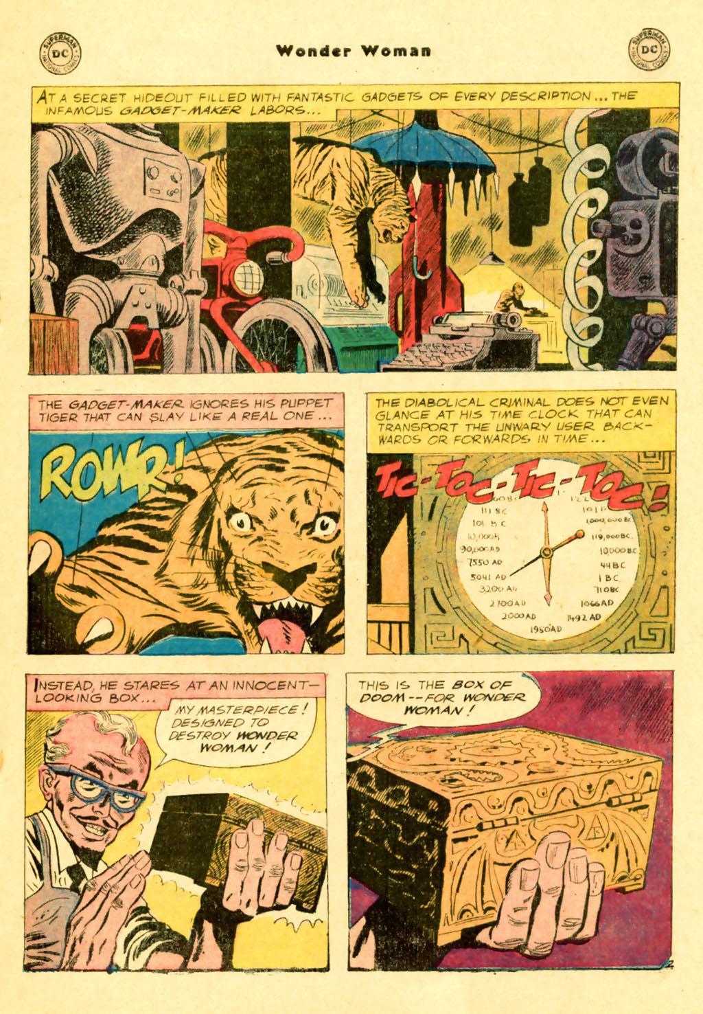 Read online Wonder Woman (1942) comic -  Issue #103 - 17