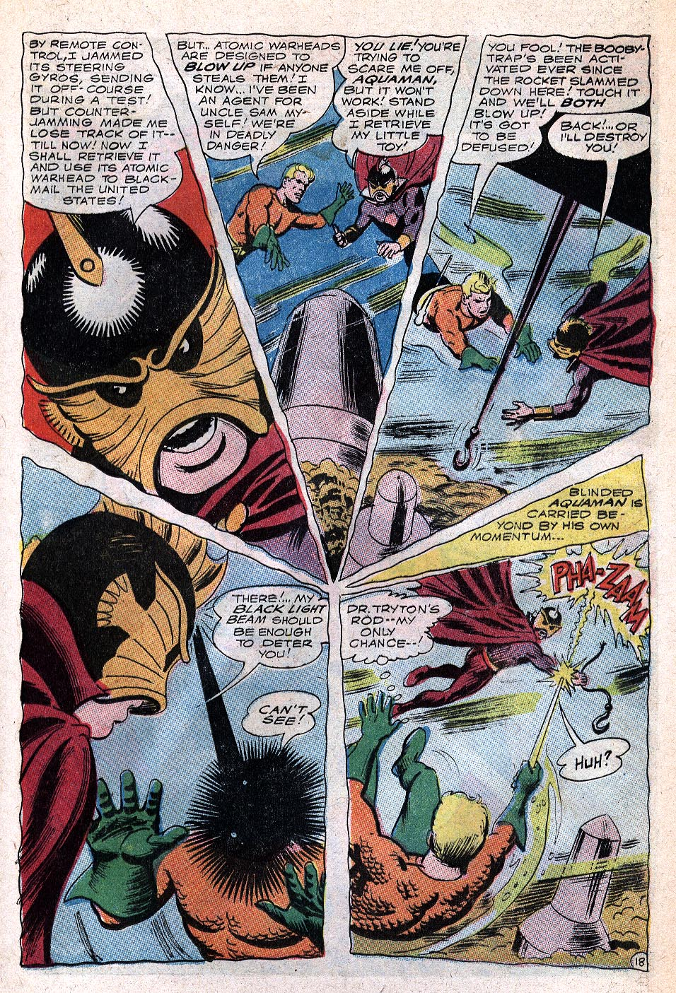 Read online Aquaman (1962) comic -  Issue #32 - 25