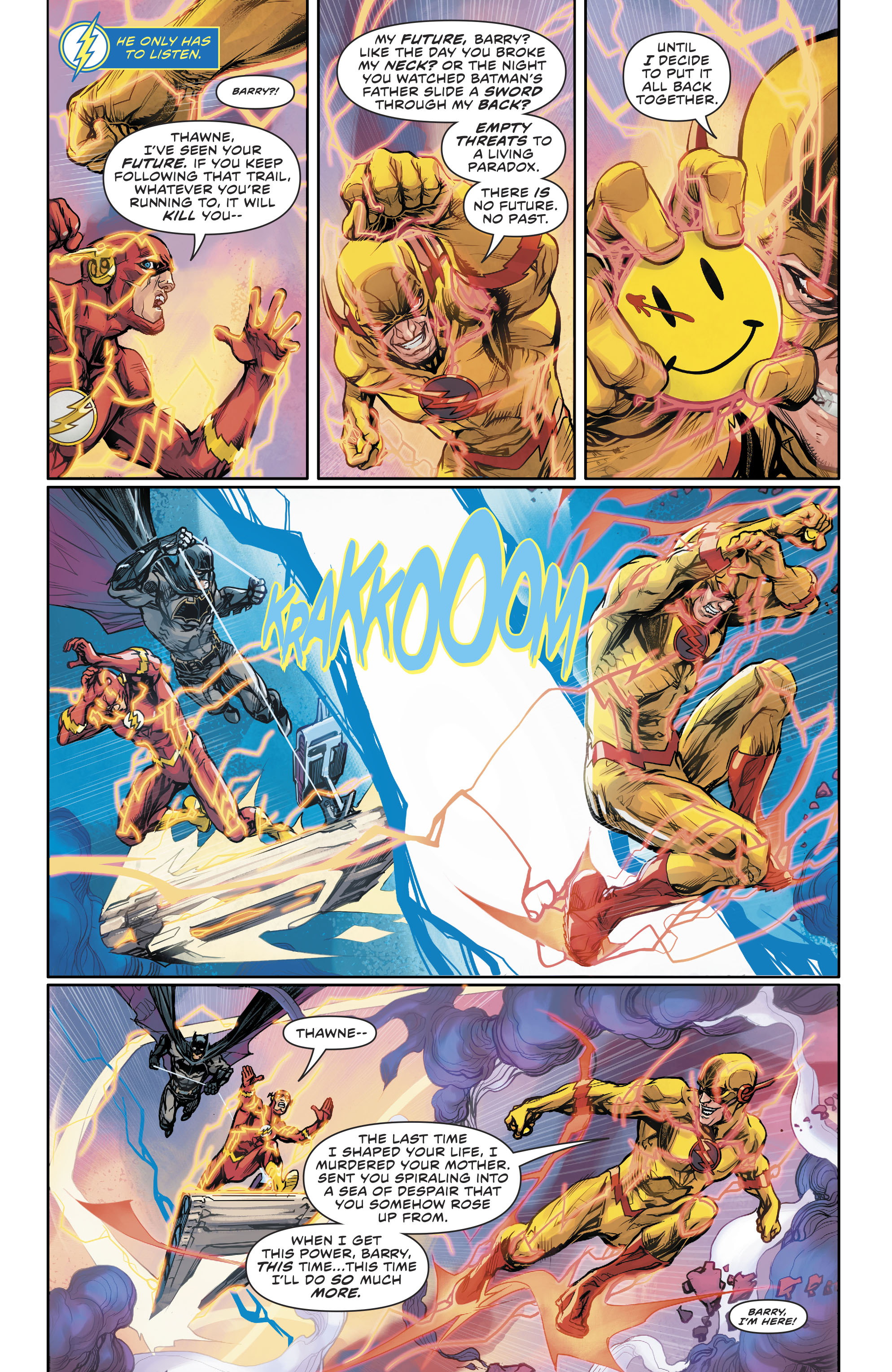 Read online The Flash (2016) comic -  Issue #22 - 5