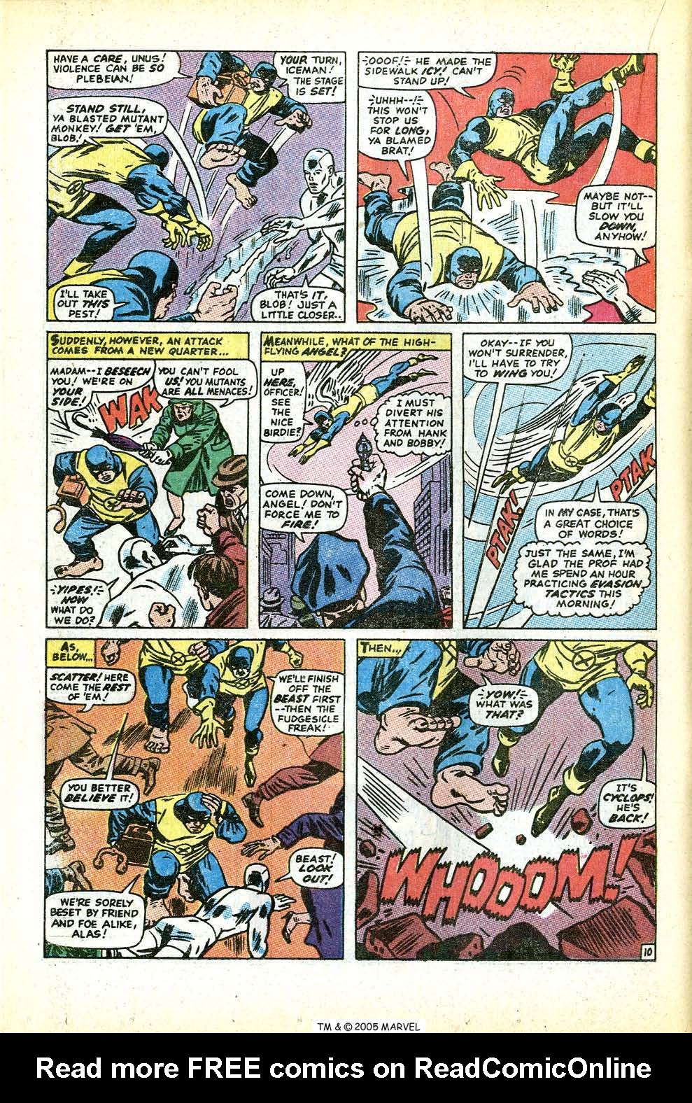Read online Uncanny X-Men (1963) comic -  Issue #71 - 16