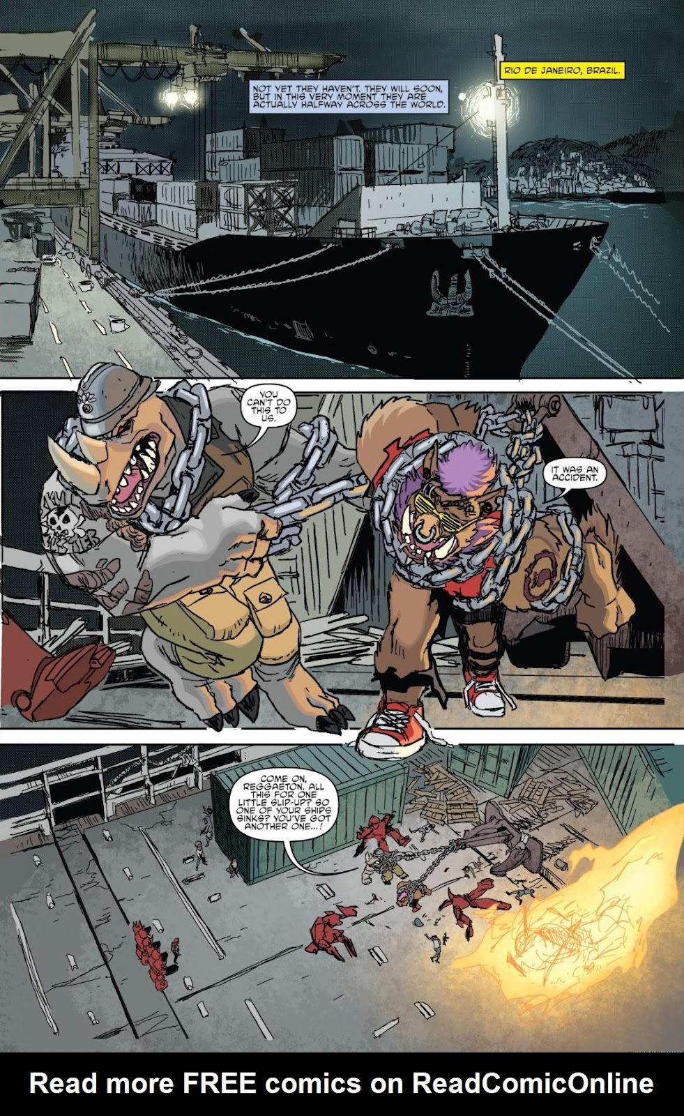 Read online Teenage Mutant Ninja Turtles: The IDW Collection comic -  Issue # TPB 8 (Part 1) - 12