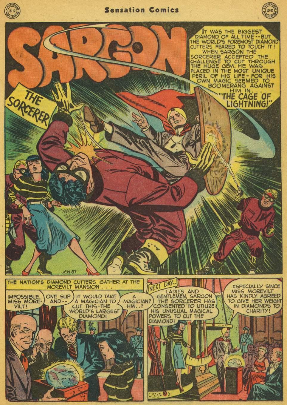 Read online Sensation (Mystery) Comics comic -  Issue #80 - 24