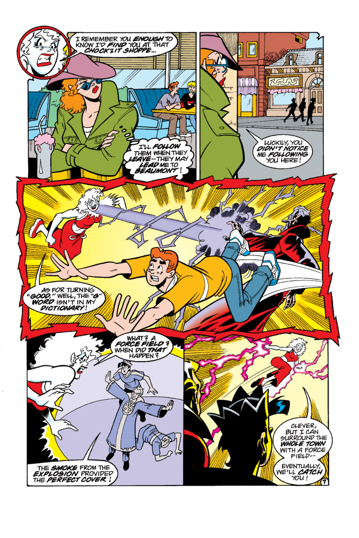 Read online Archie's Weird Mysteries comic -  Issue #12 - 9