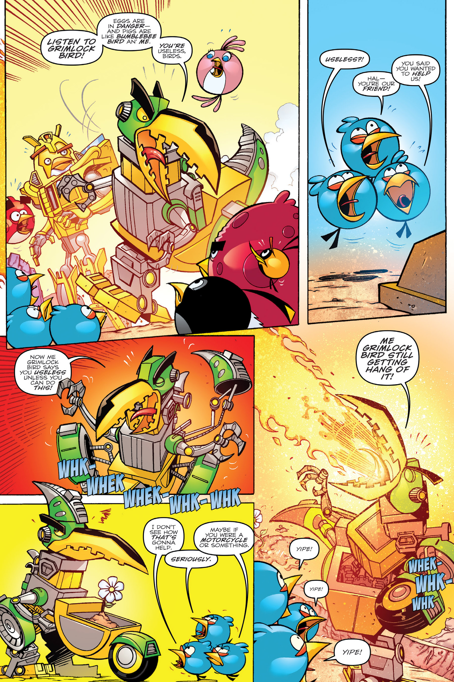 Read online Angry Birds Transformers: Age of Eggstinction comic -  Issue # Full - 30