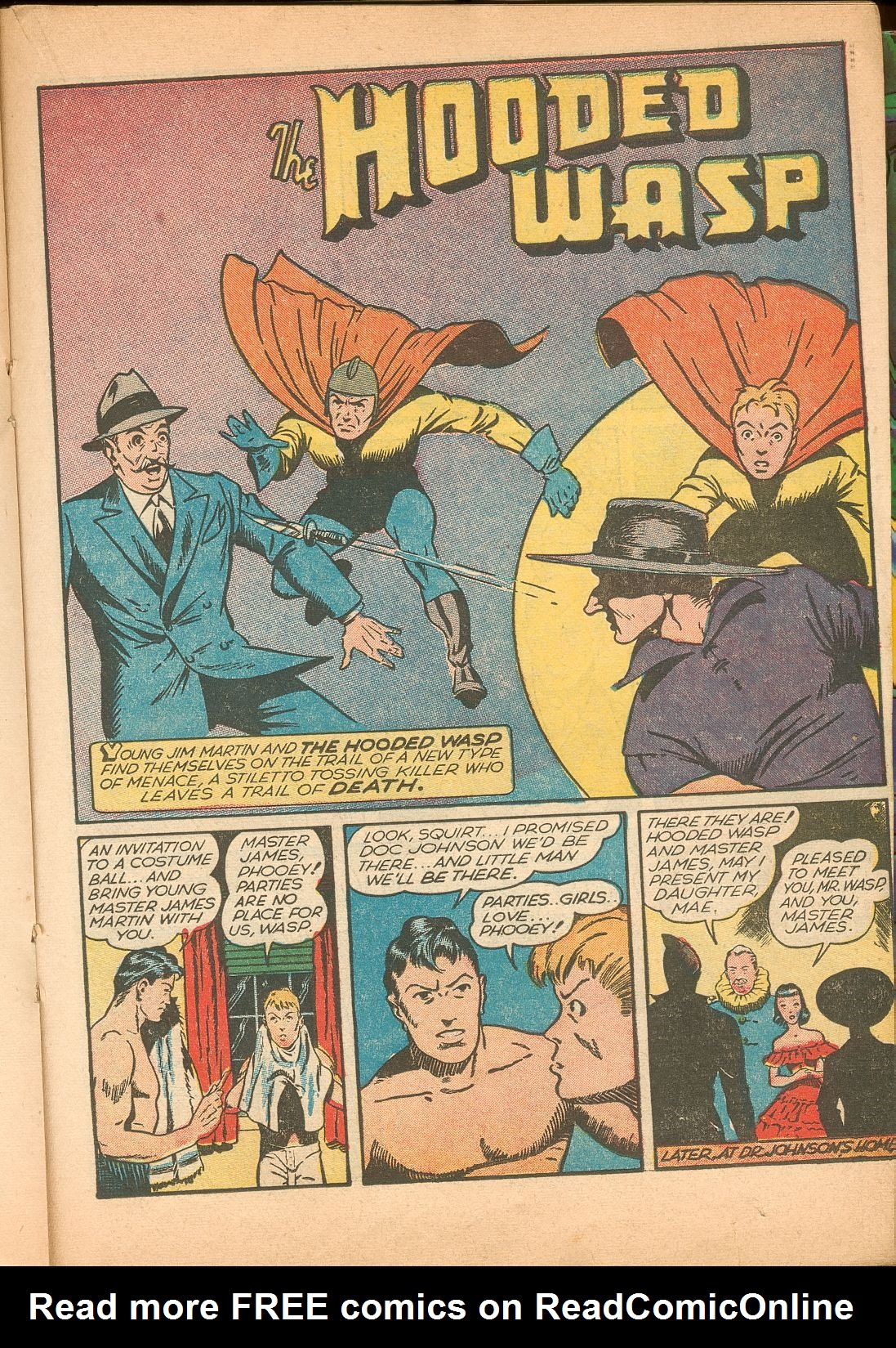Read online Shadow Comics comic -  Issue #11 - 37