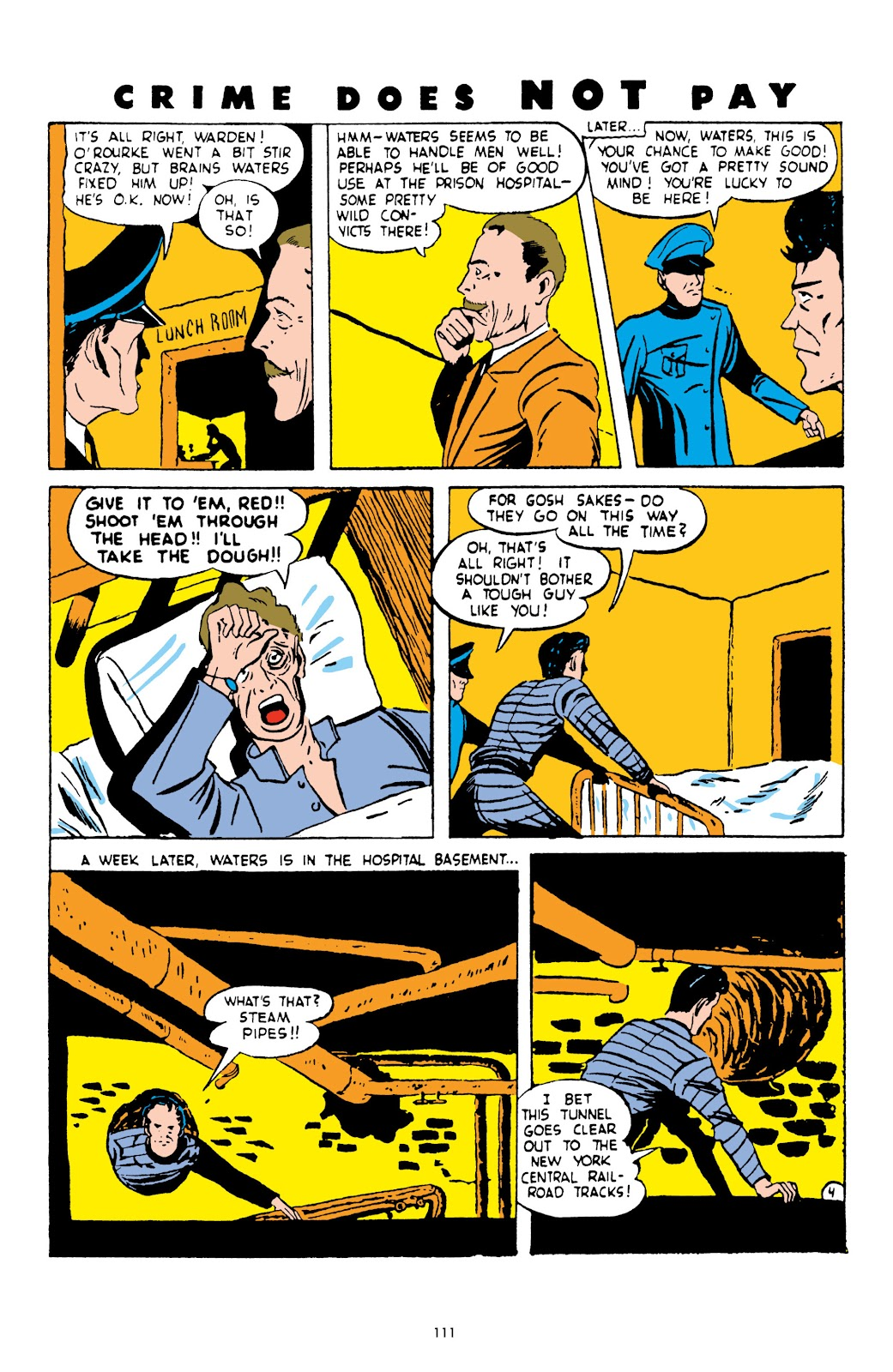 Read online Crime Does Not Pay Archives comic -  Issue # TPB 3 (Part 2) - 11