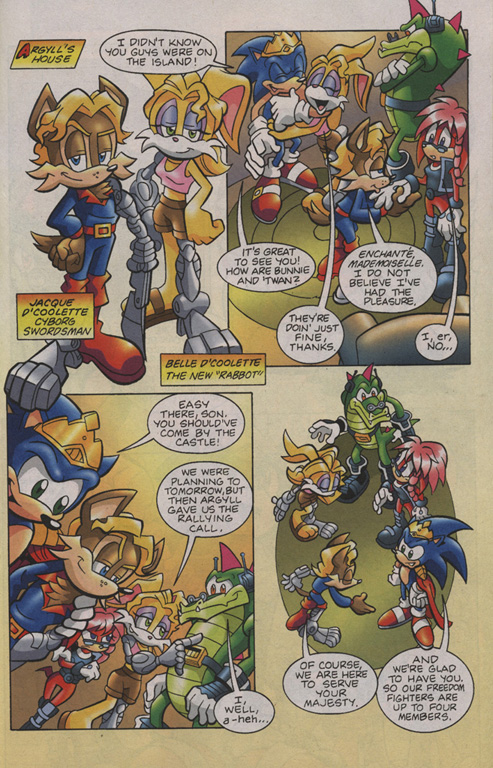 Read online Sonic Universe comic -  Issue #7 - 8