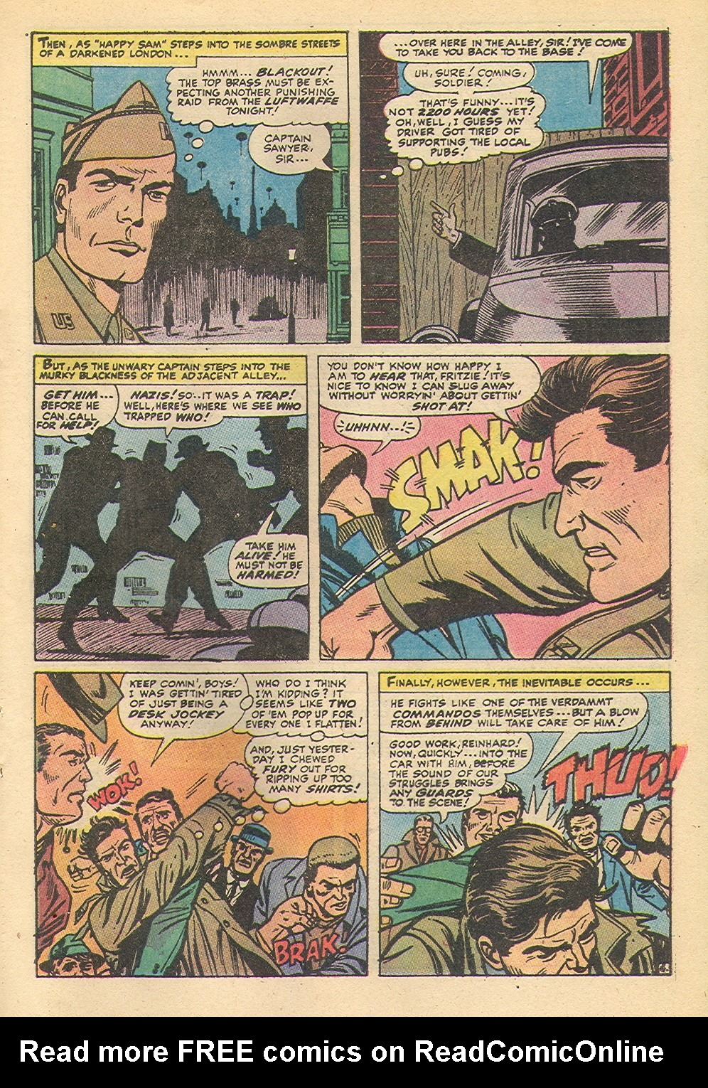 Read online Sgt. Fury comic -  Issue #92 - 31