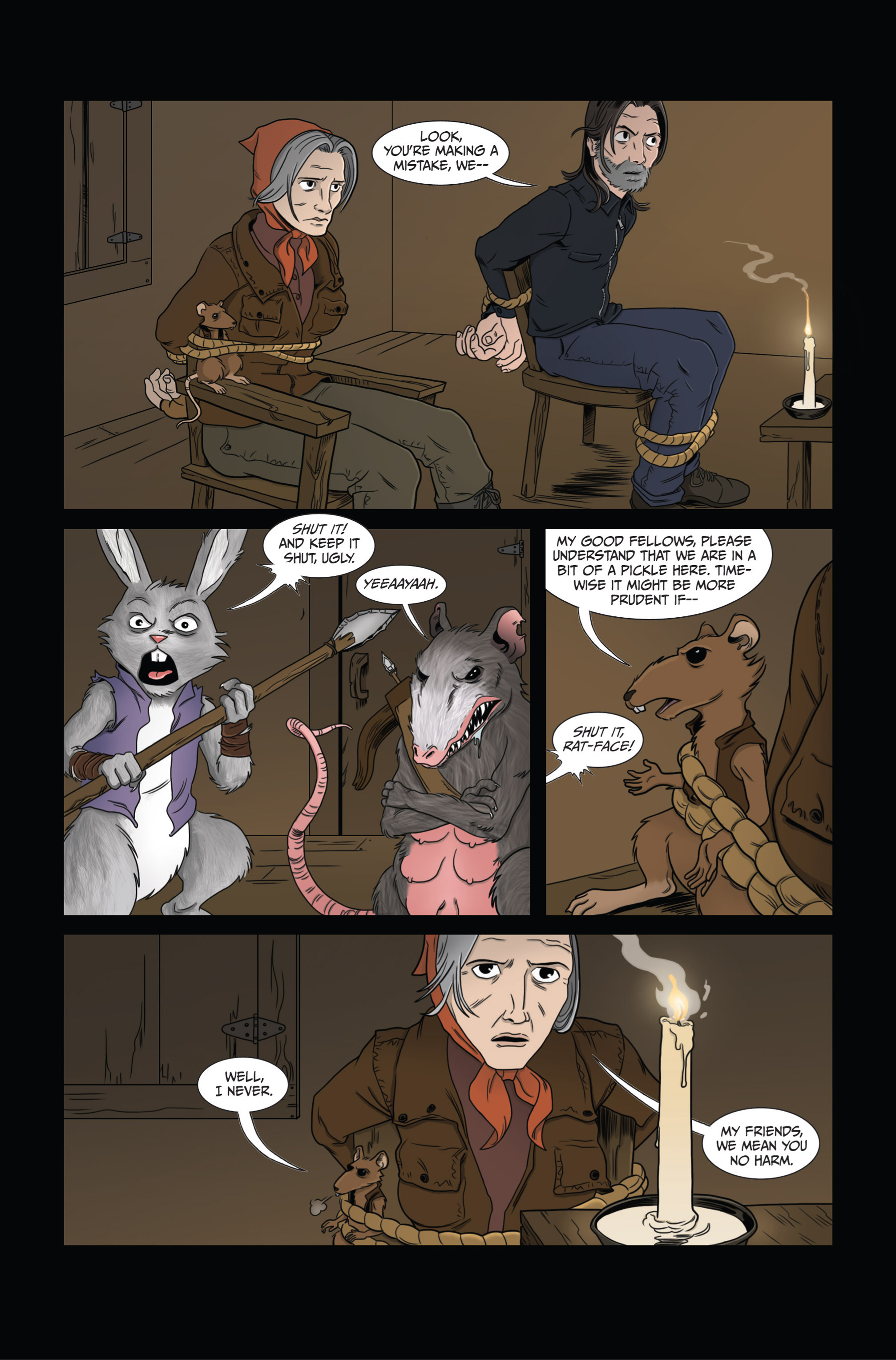 Read online Ehmm Theory: Everything & Small Doses comic -  Issue #3 - 8