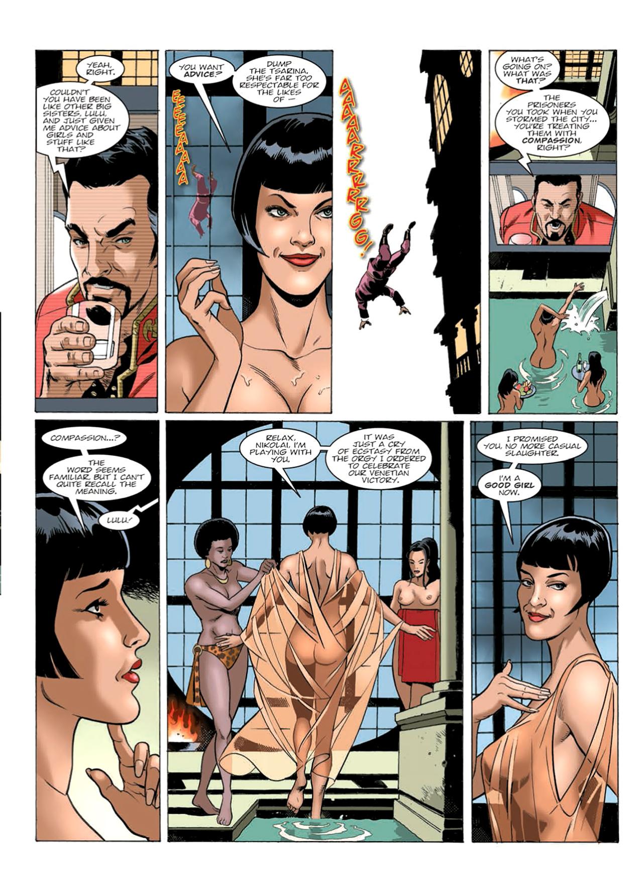 Read online Nikolai Dante comic -  Issue # TPB 9 - 161