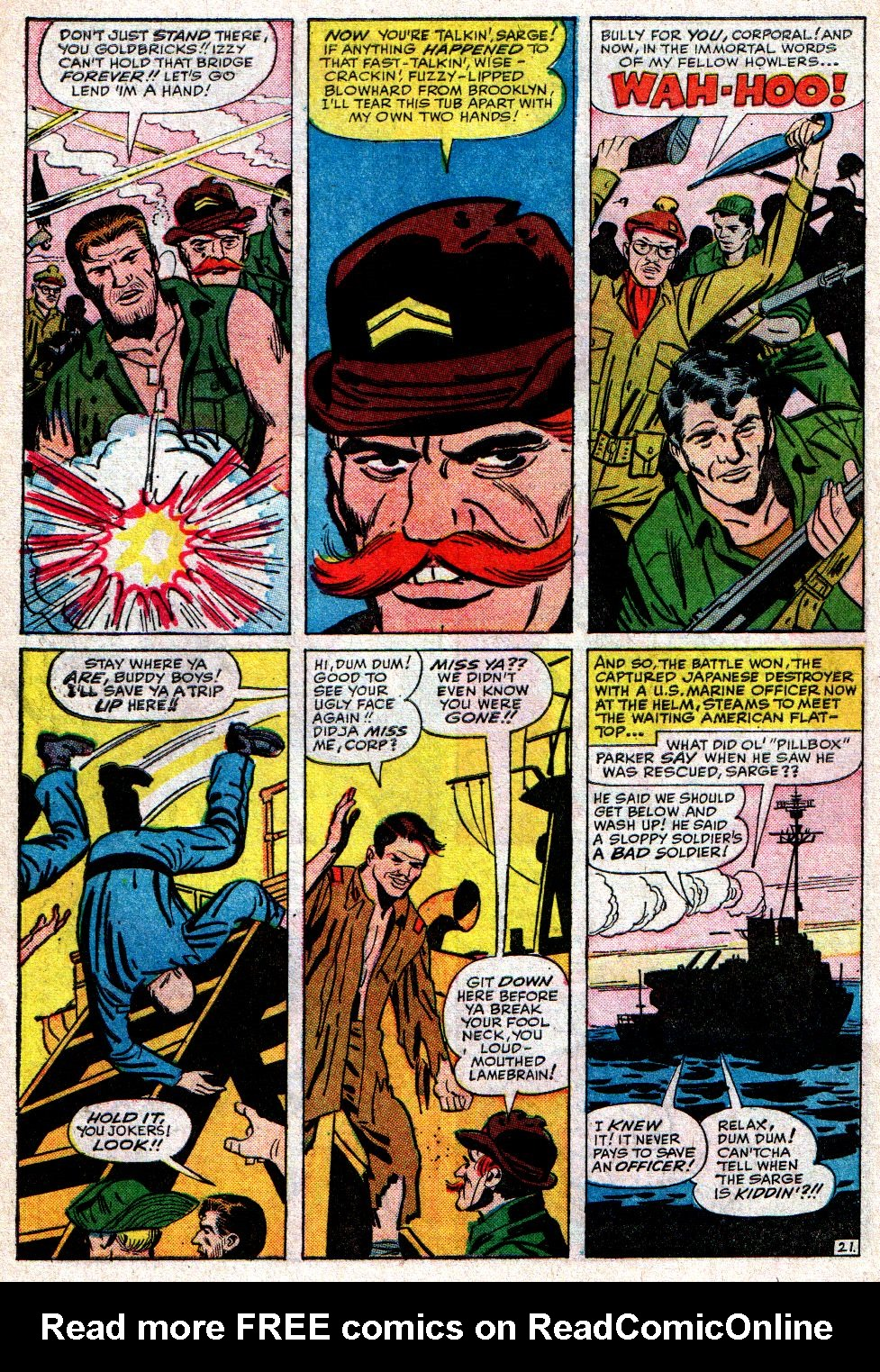 Read online Sgt. Fury comic -  Issue #10 - 30