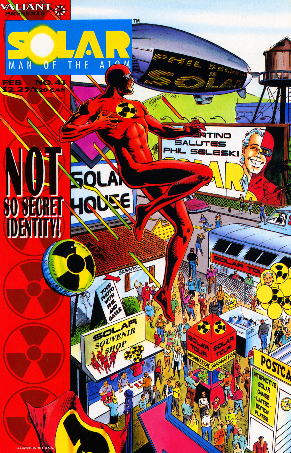 Read online Solar, Man of the Atom comic -  Issue #41 - 1