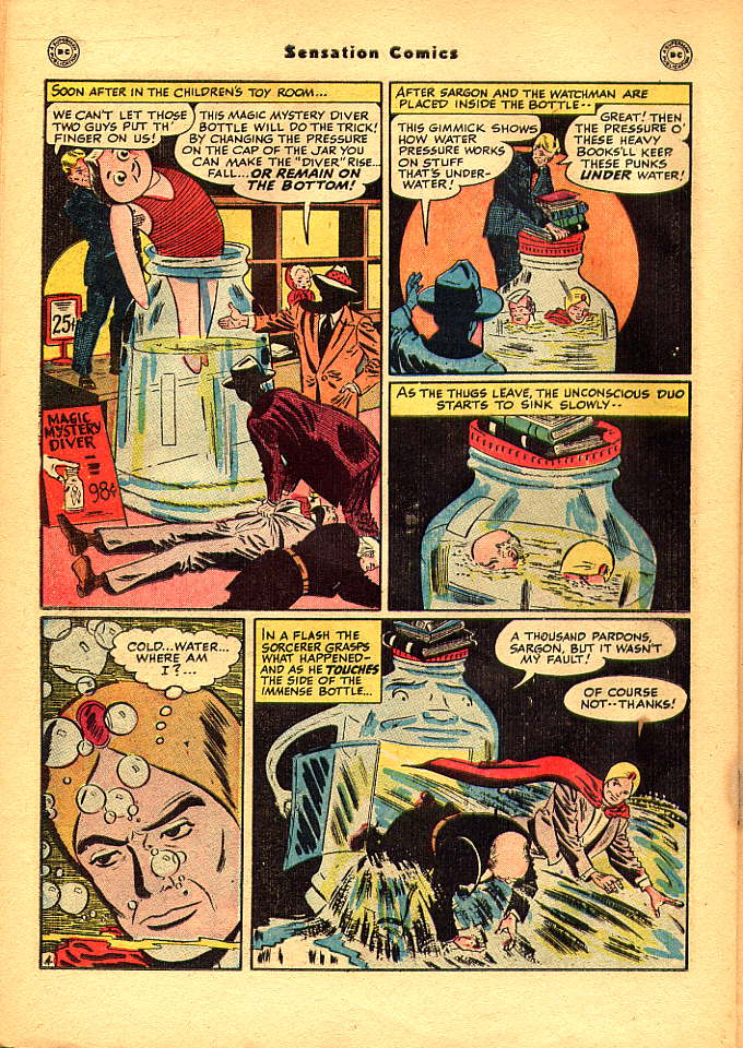 Read online Sensation (Mystery) Comics comic -  Issue #83 - 20