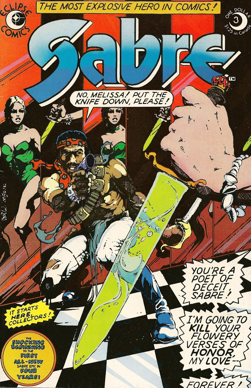 Sabre (1982) issue 3 - Page 1