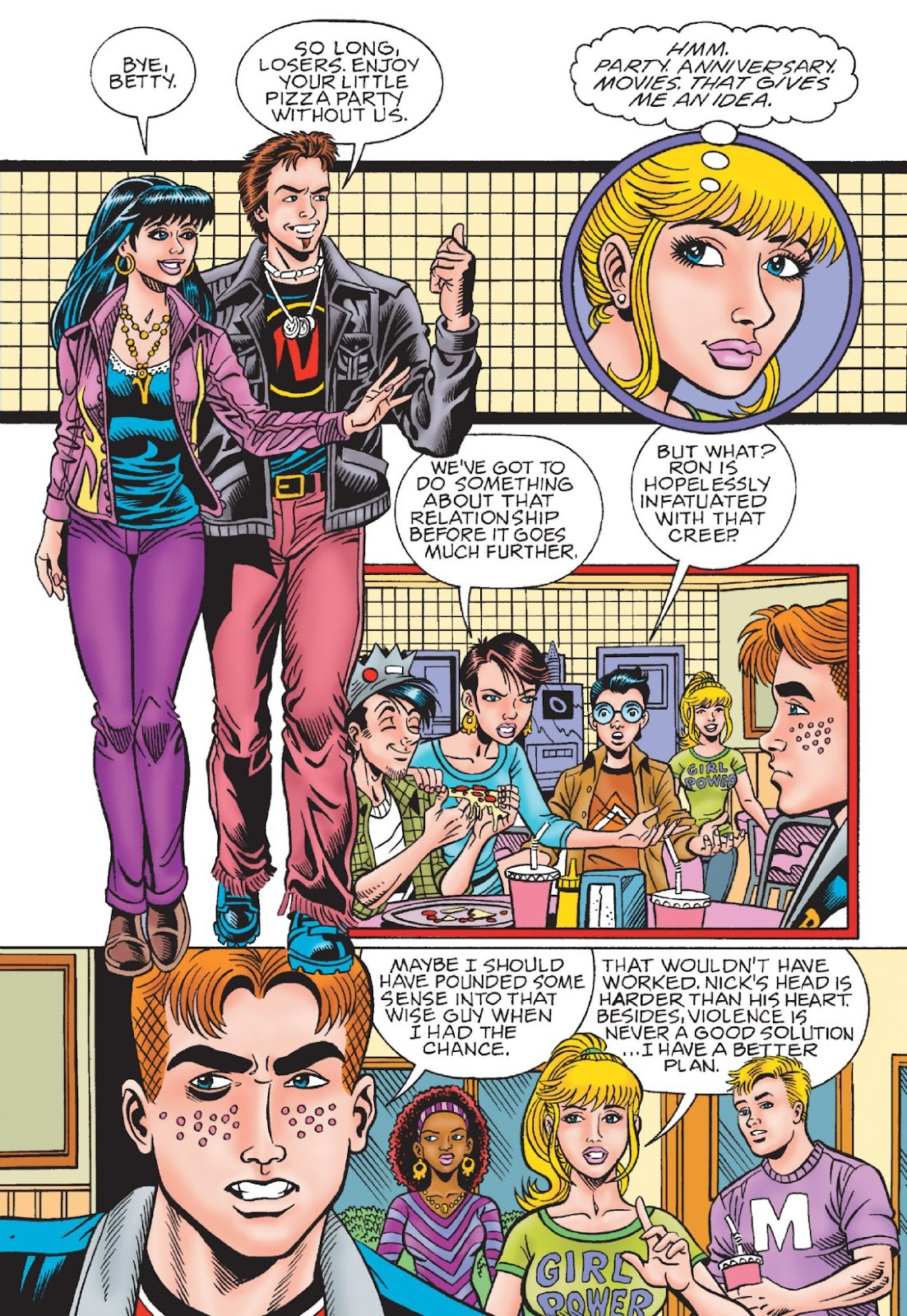 Read online Archie's New Look Series comic -  Issue #1 - 96