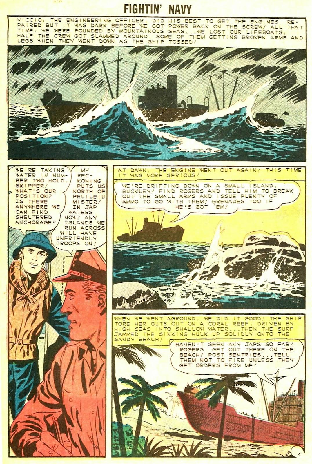 Read online Fightin' Navy comic -  Issue #117 - 18