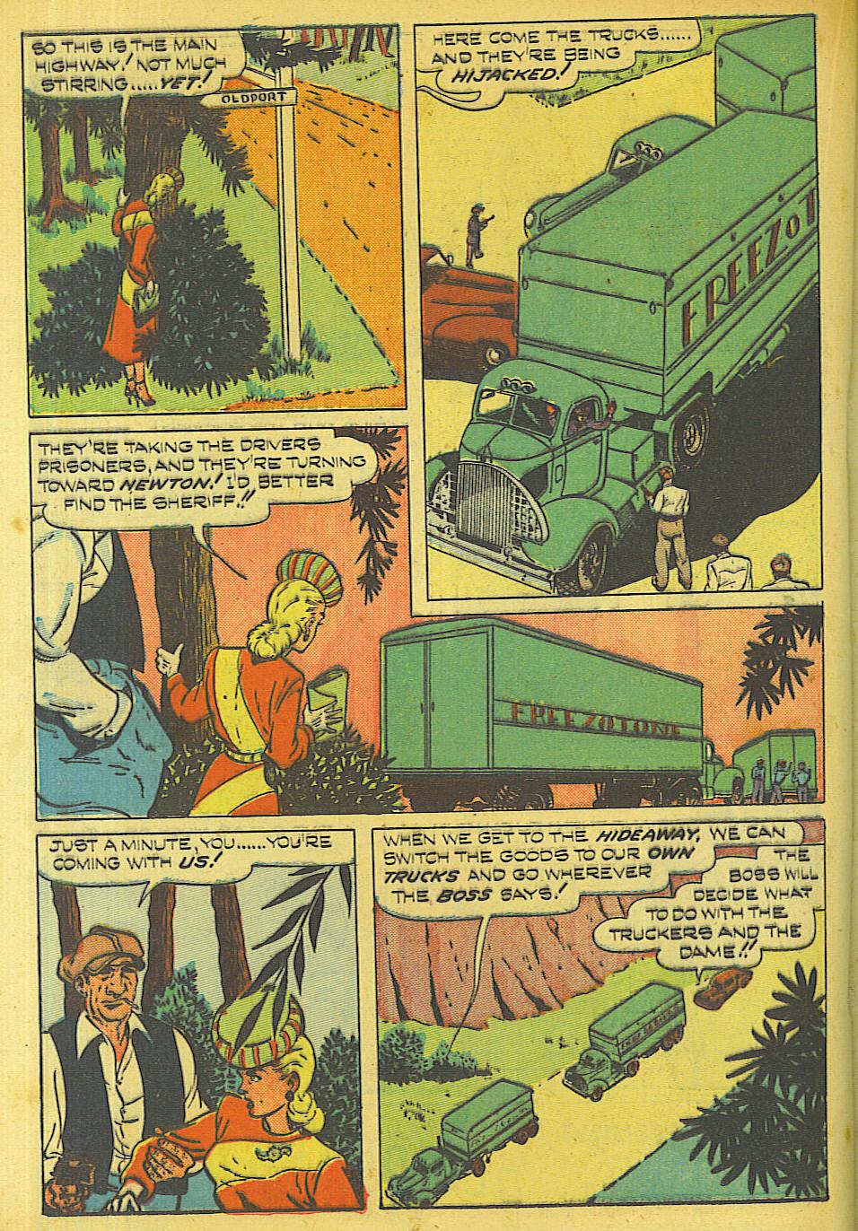 Read online Shadow Comics comic -  Issue #87 - 27
