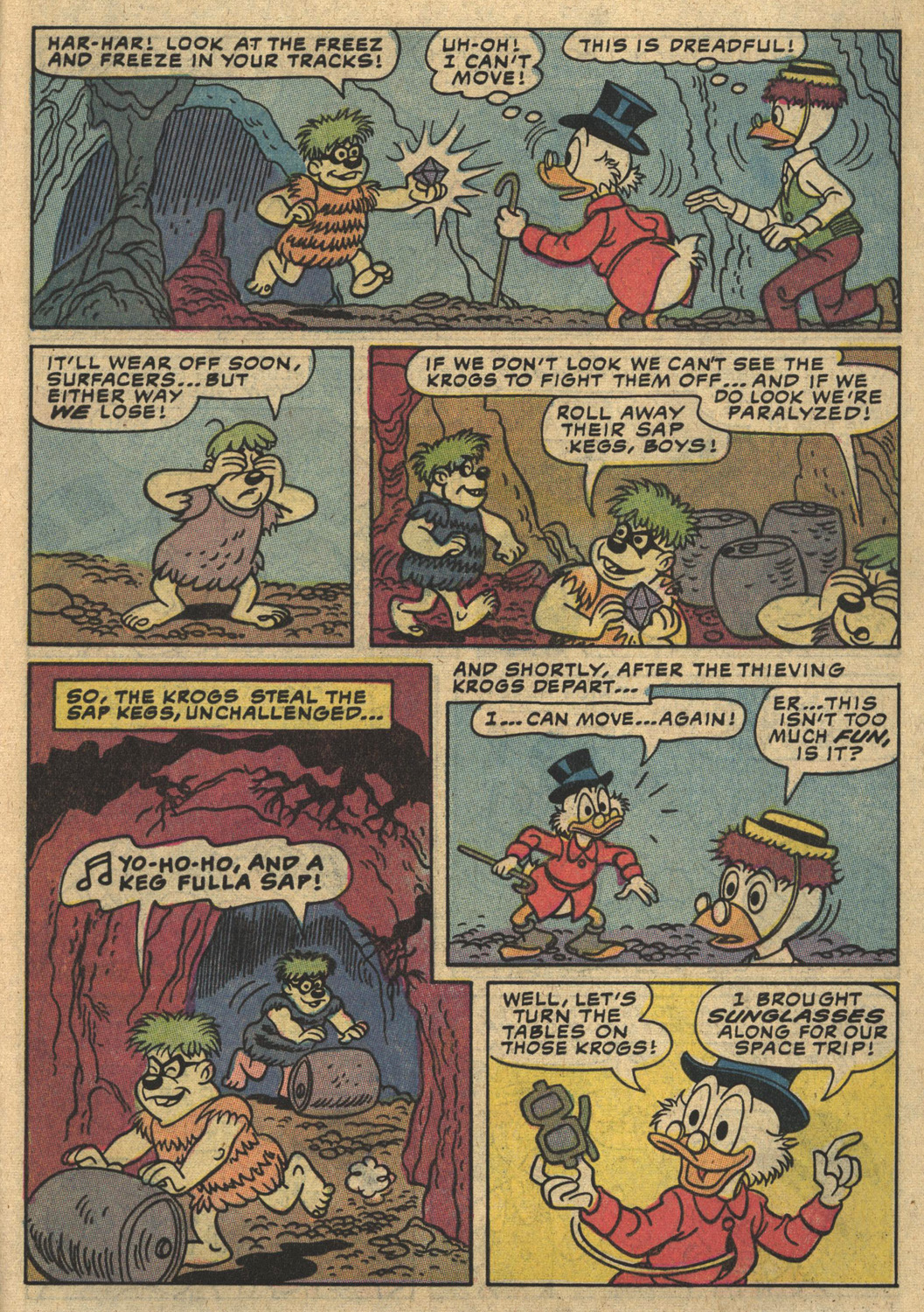 Read online Uncle Scrooge (1953) comic -  Issue #194 - 9