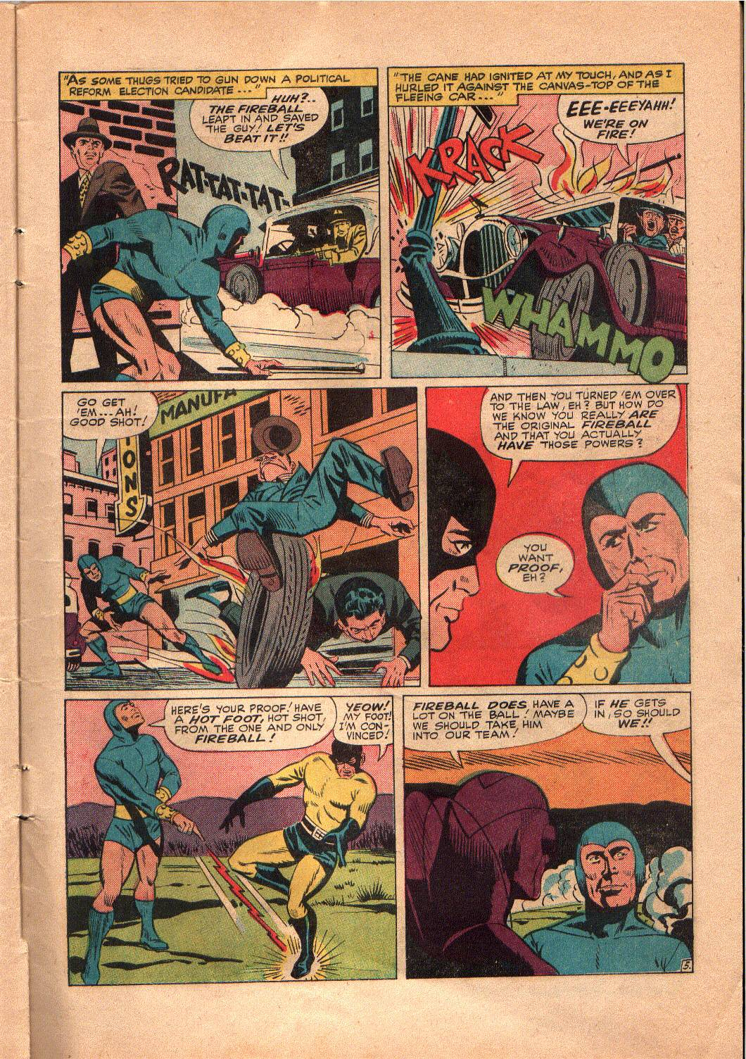 The Mighty Crusaders (1965) Issue #4 #4 - English 6