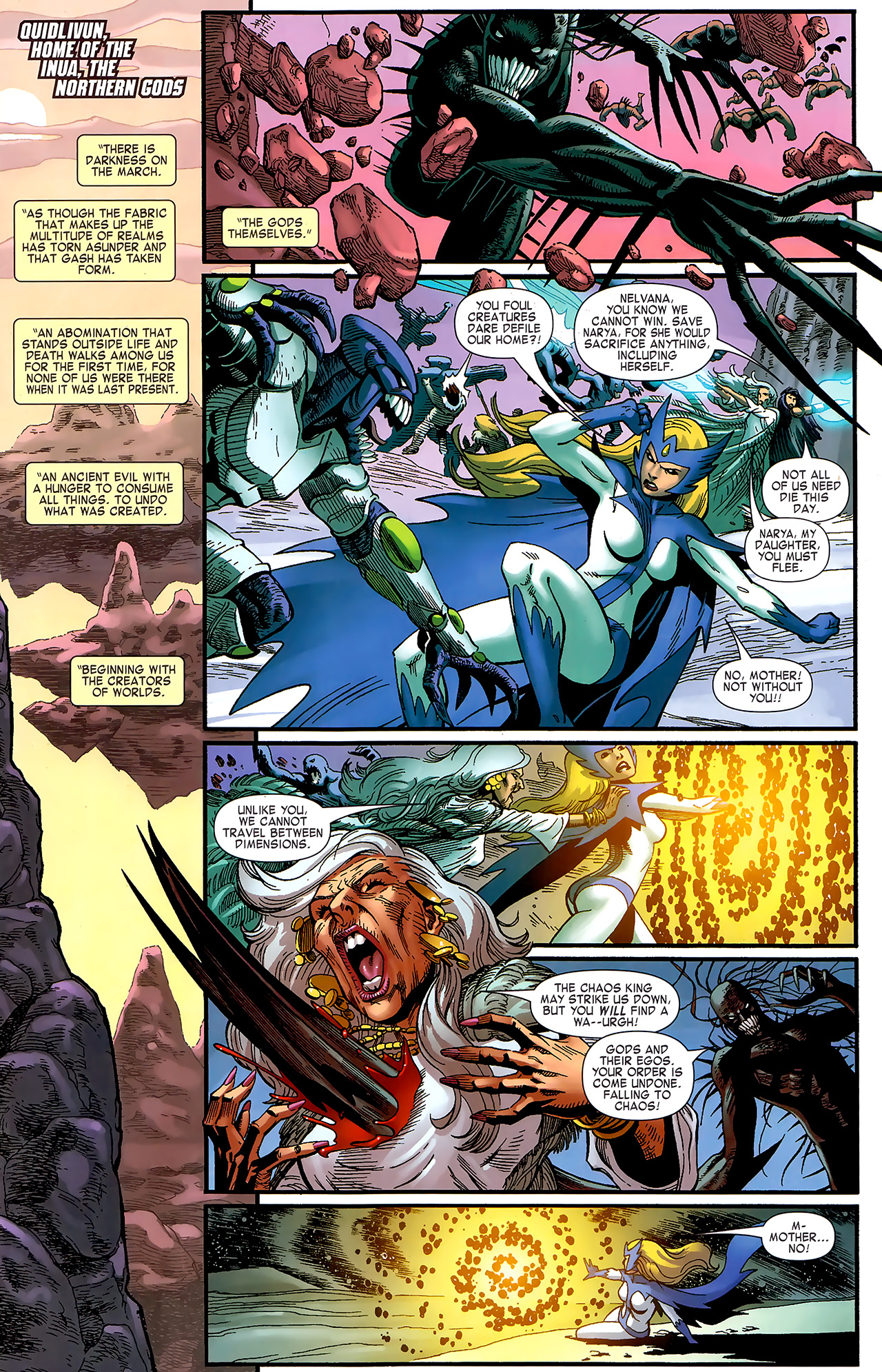 Read online Chaos War: Alpha Flight comic -  Issue # Full - 4