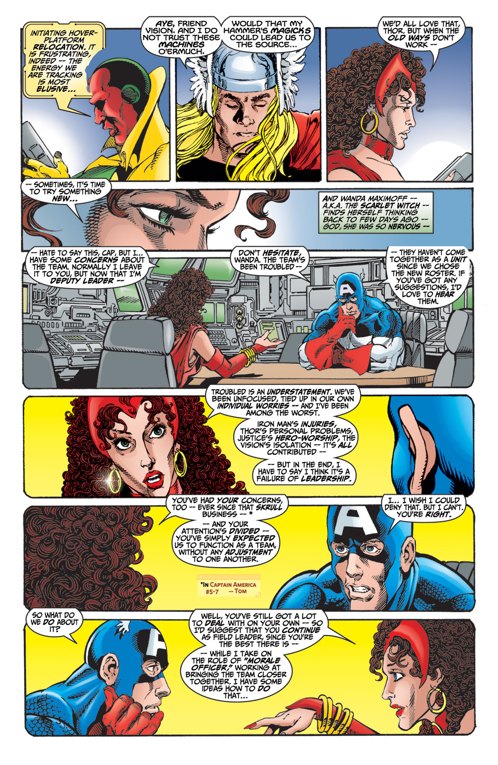 Read online Avengers (1998) comic -  Issue #15 - 6
