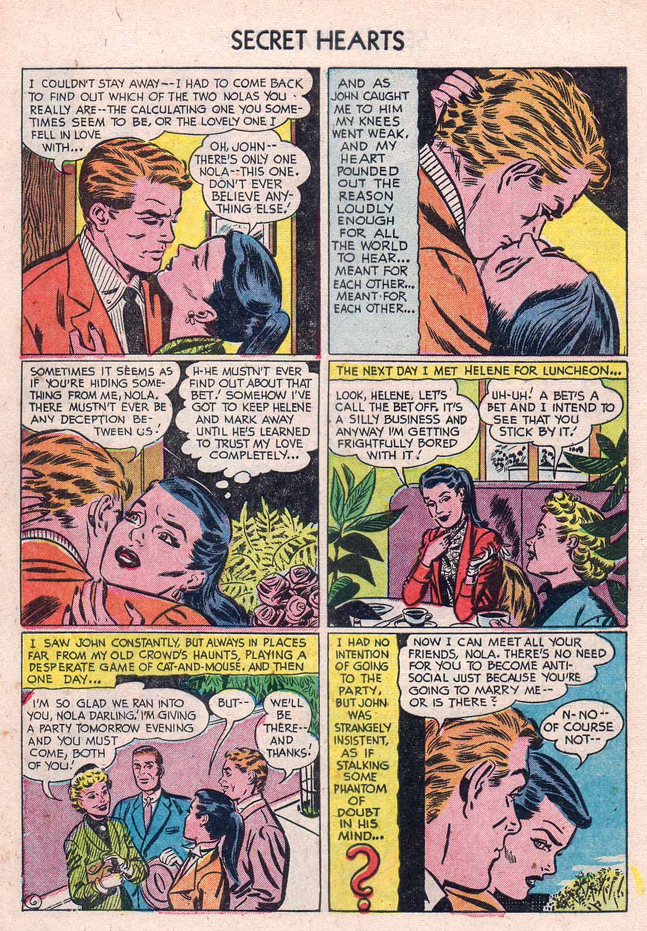 Read online Secret Hearts comic -  Issue #12 - 8