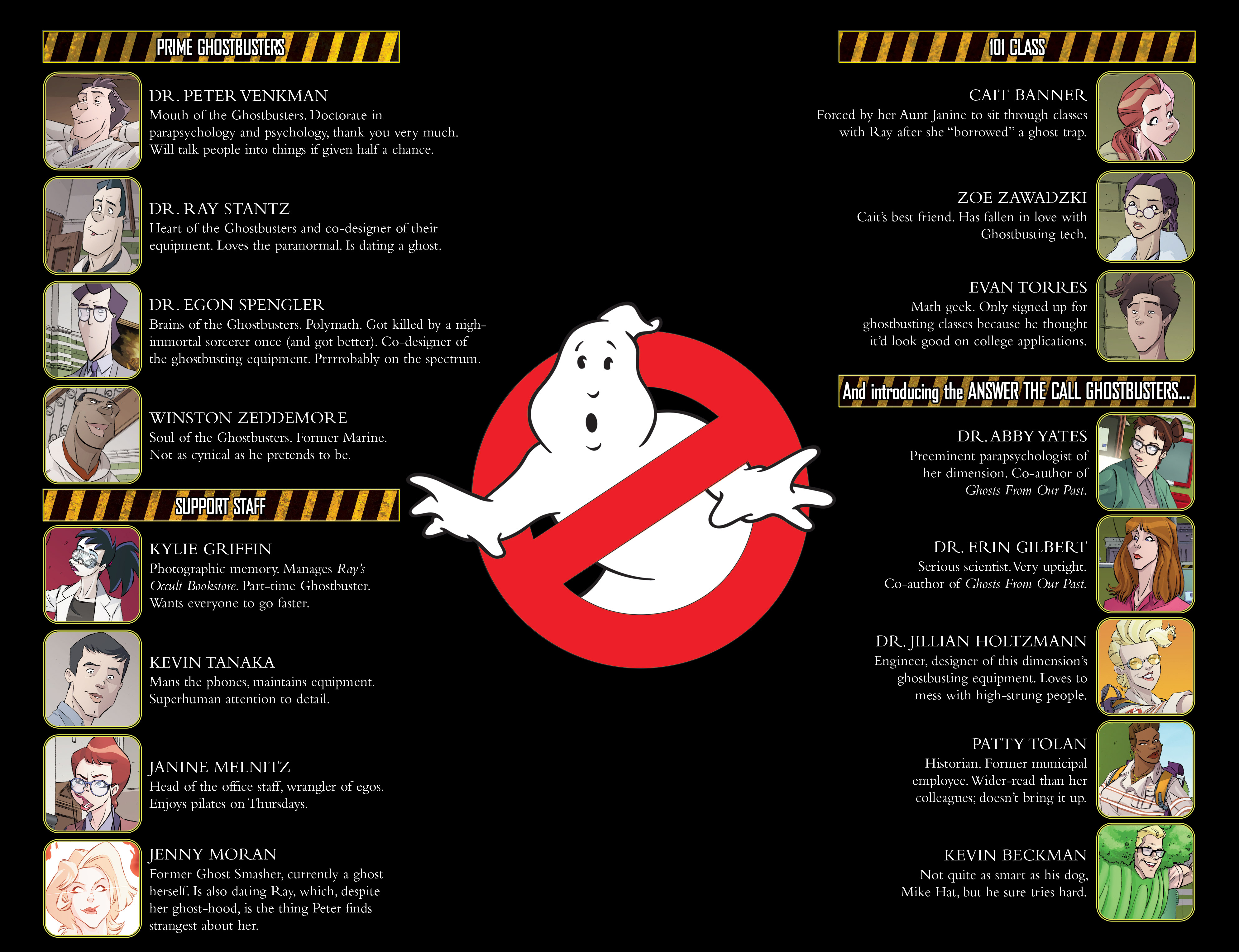 Read online Ghostbusters 101 comic -  Issue #3 - 4