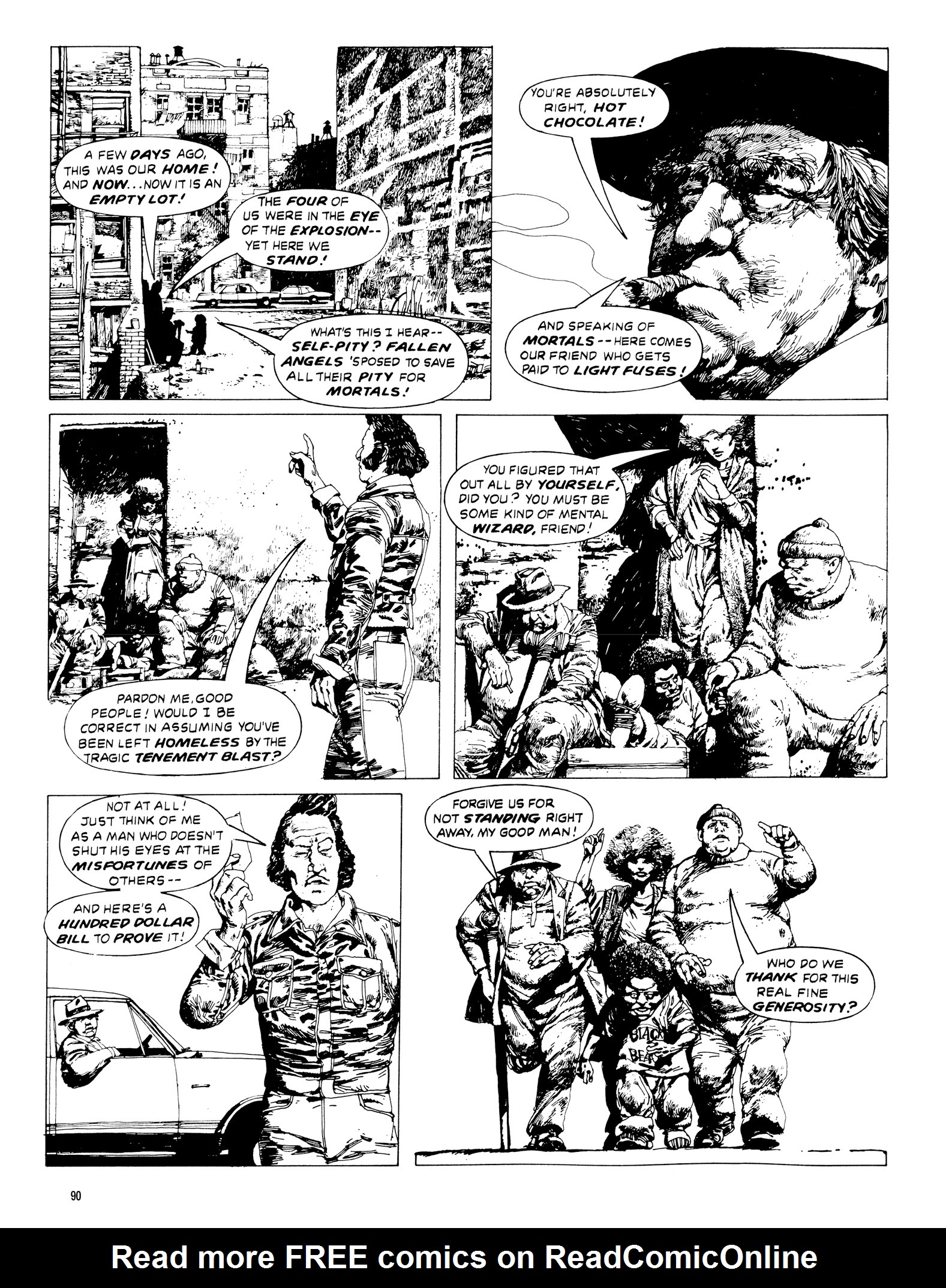 Read online Eerie Archives comic -  Issue # TPB 20 - 90