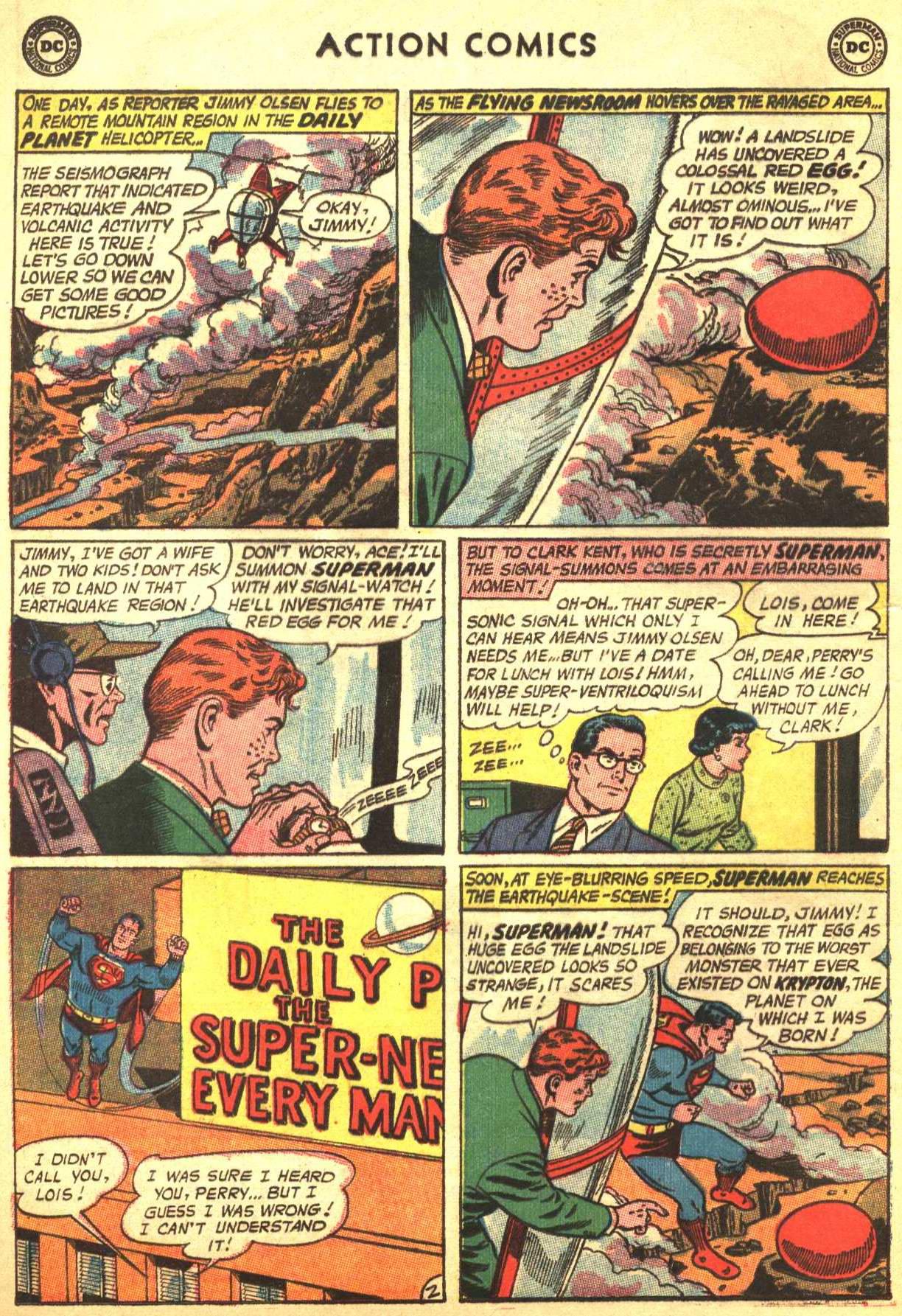 Action Comics (1938) 303 Page 2