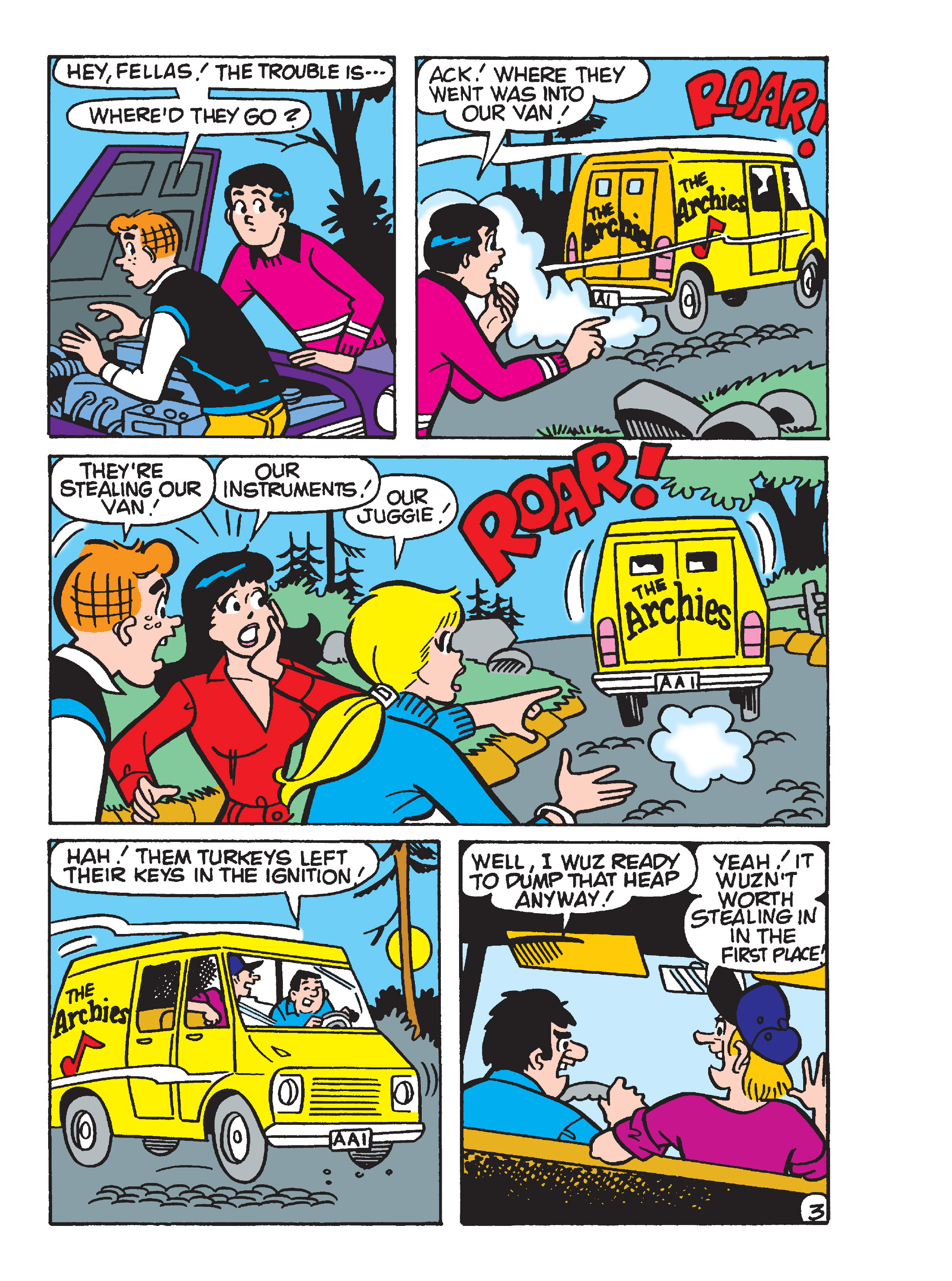 Read online Archie's Funhouse Double Digest comic -  Issue #17 - 21