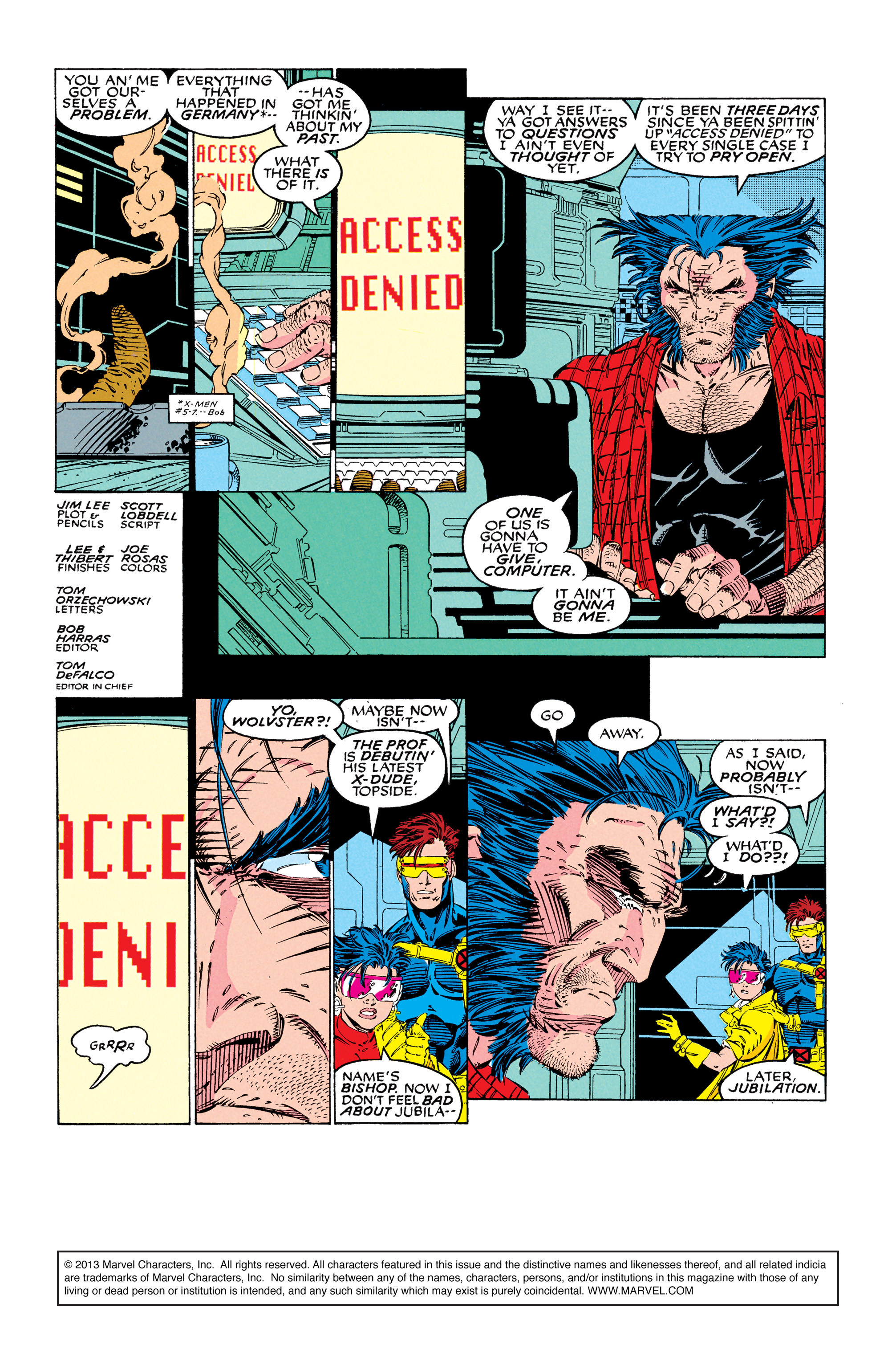 X-Men (1991) 8 Page 1