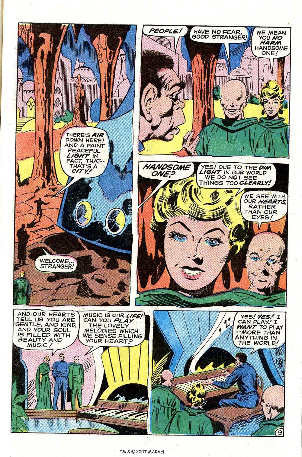Read online Silver Surfer (1968) comic -  Issue #7 - 61