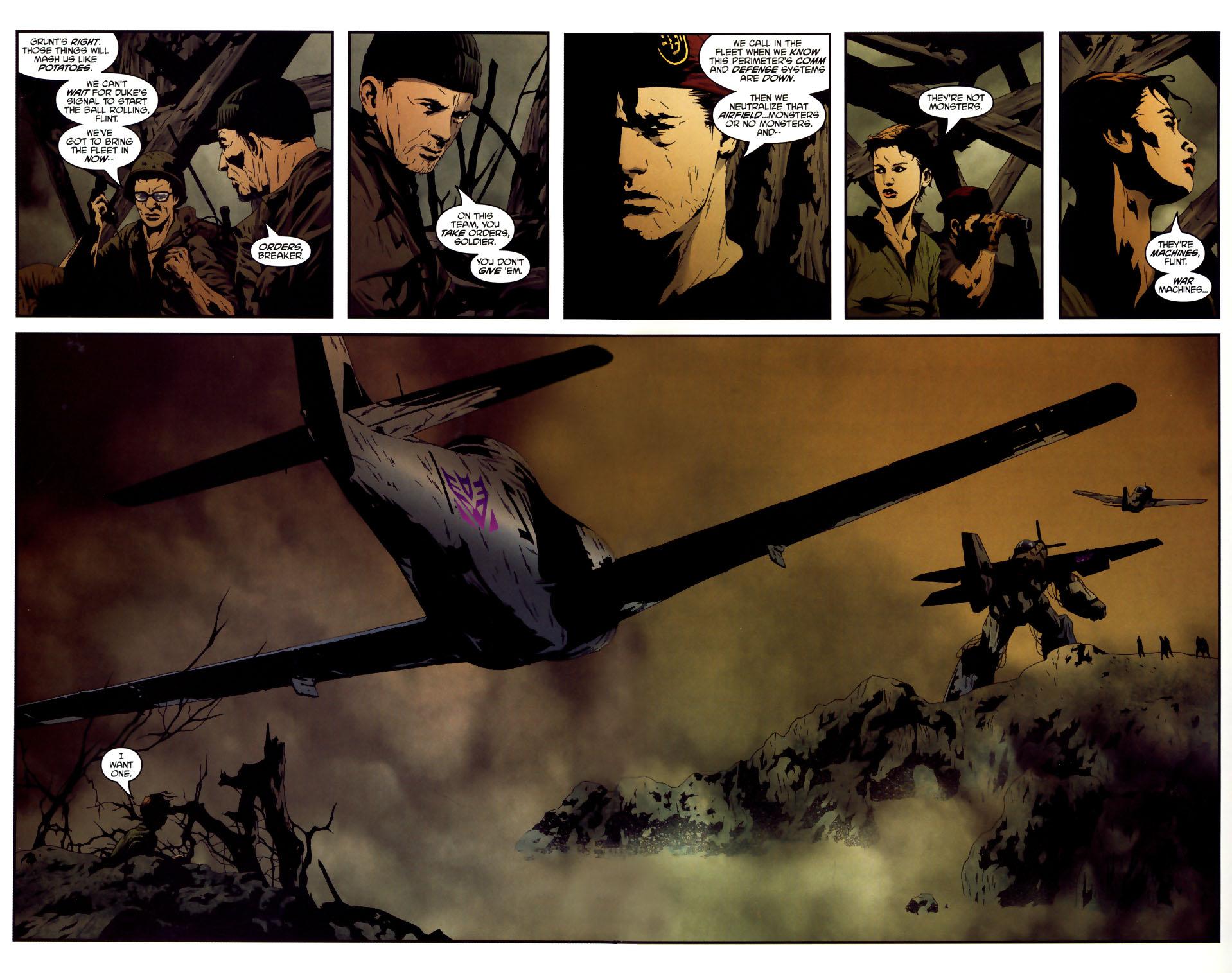 Read online Transformers/G.I. Joe comic -  Issue #3 - 4