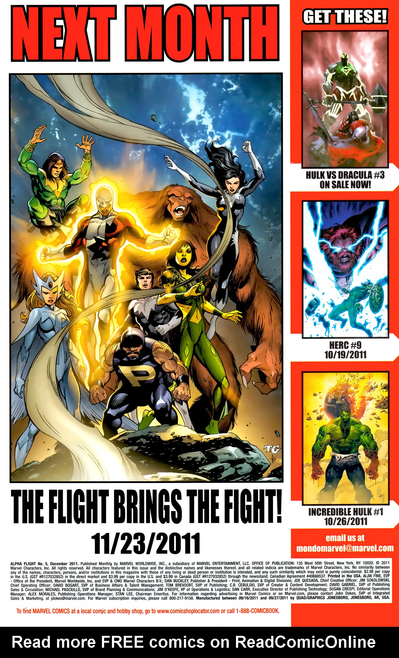 Read online Alpha Flight (2011) comic -  Issue #5 - 23