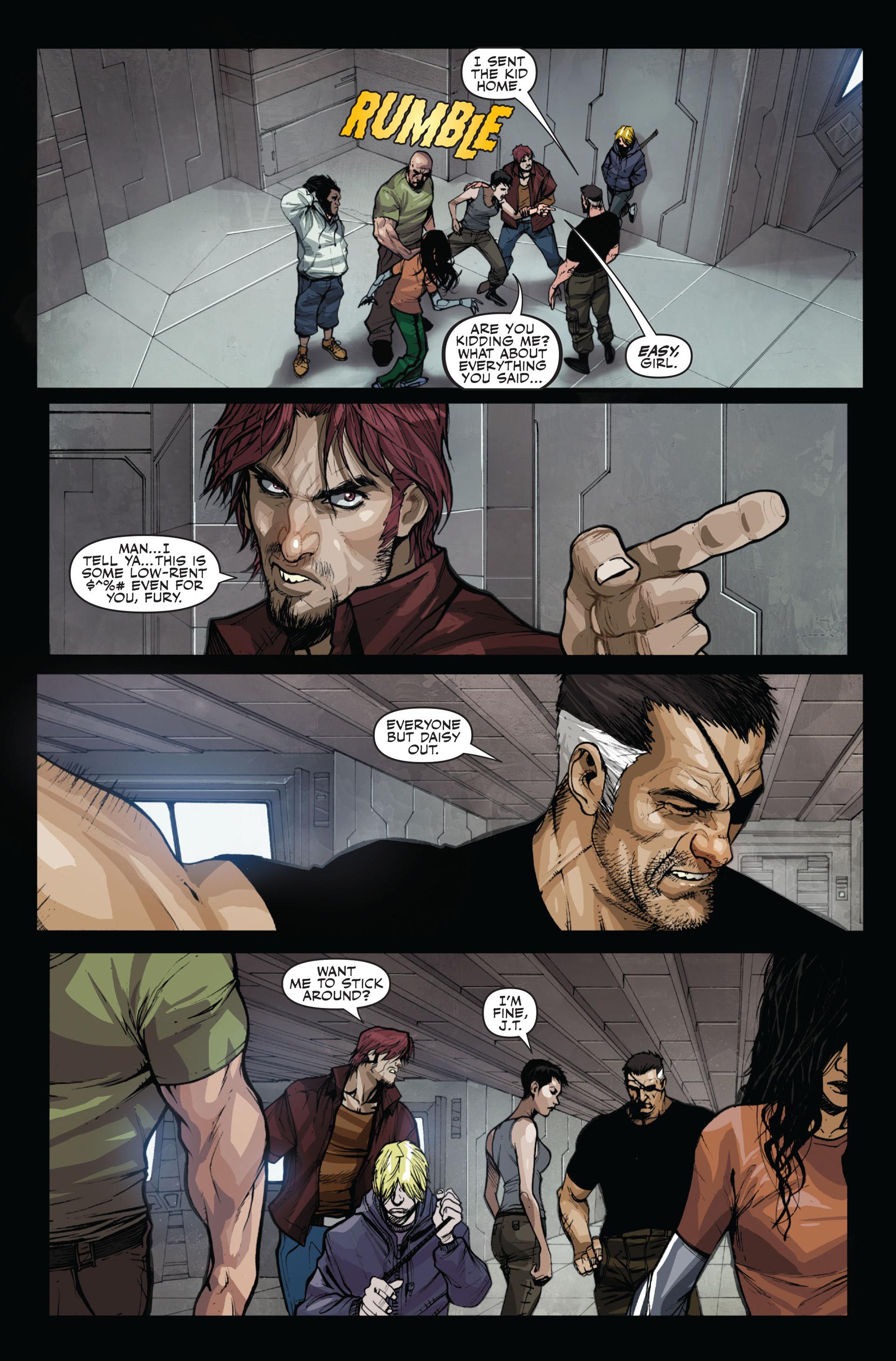 Read online Secret Warriors comic -  Issue #14 - 5