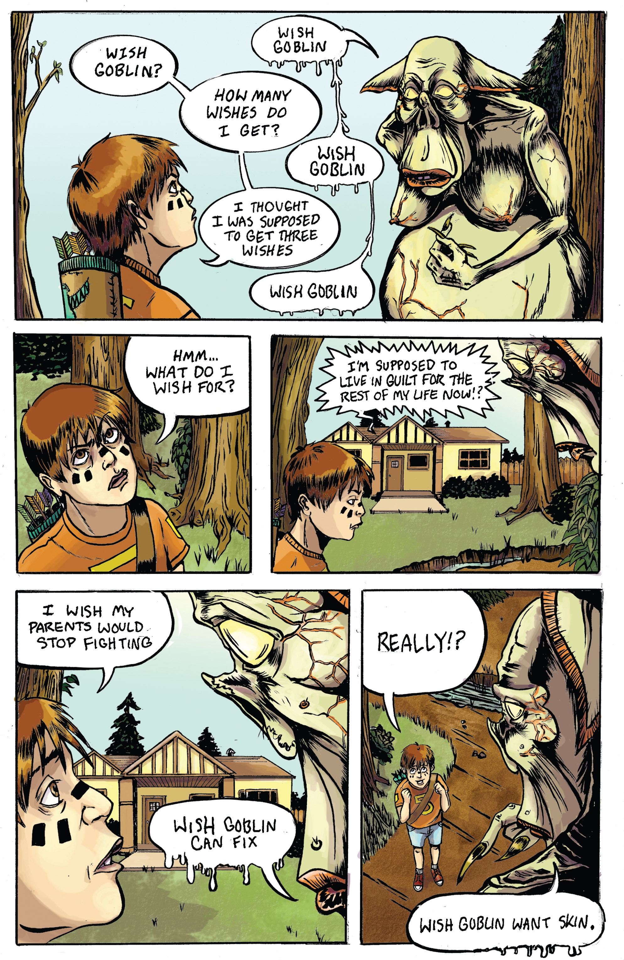 Read online Amazing Forest (2016) comic -  Issue #5 - 14