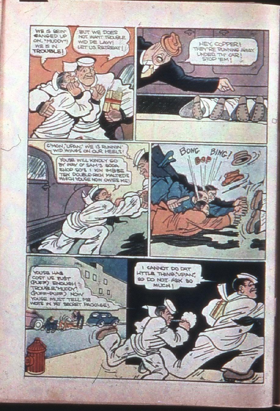 Read online Super-Magician Comics comic -  Issue #7 - 63