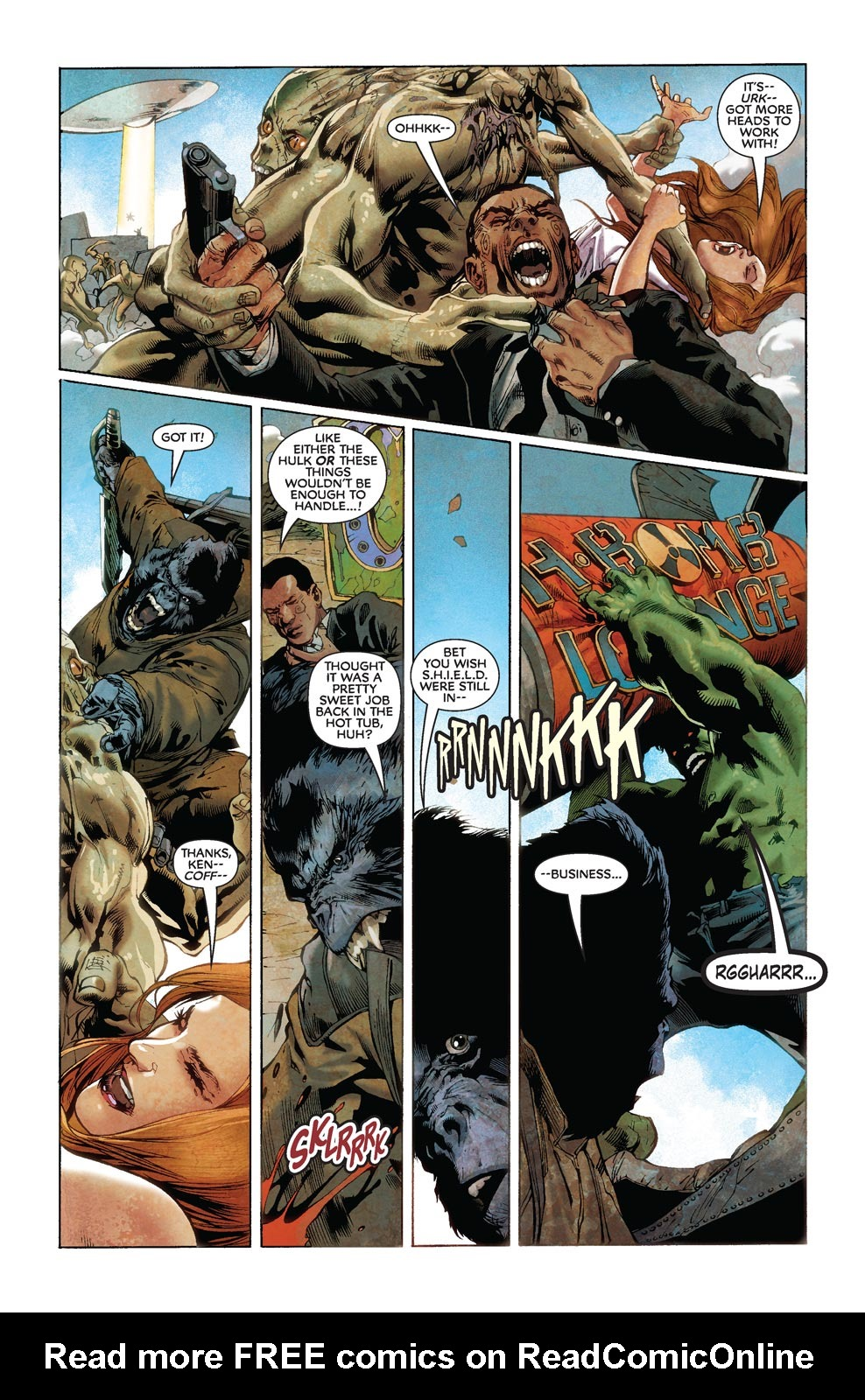 Read online Agents Of Atlas (2009) comic -  Issue #8 - 16