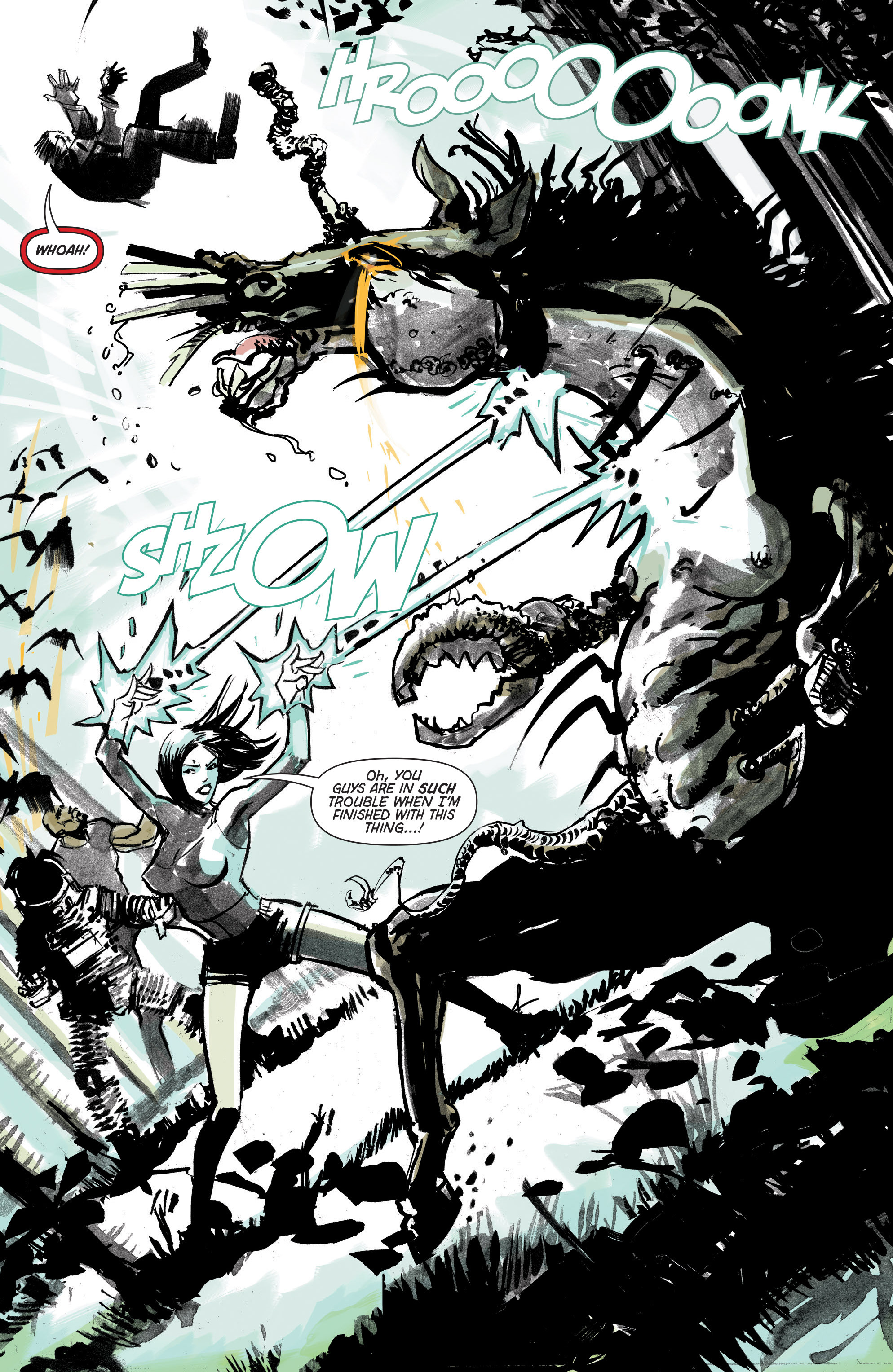 Read online Hoax Hunters (2012) comic -  Issue # TPB 3 - 110