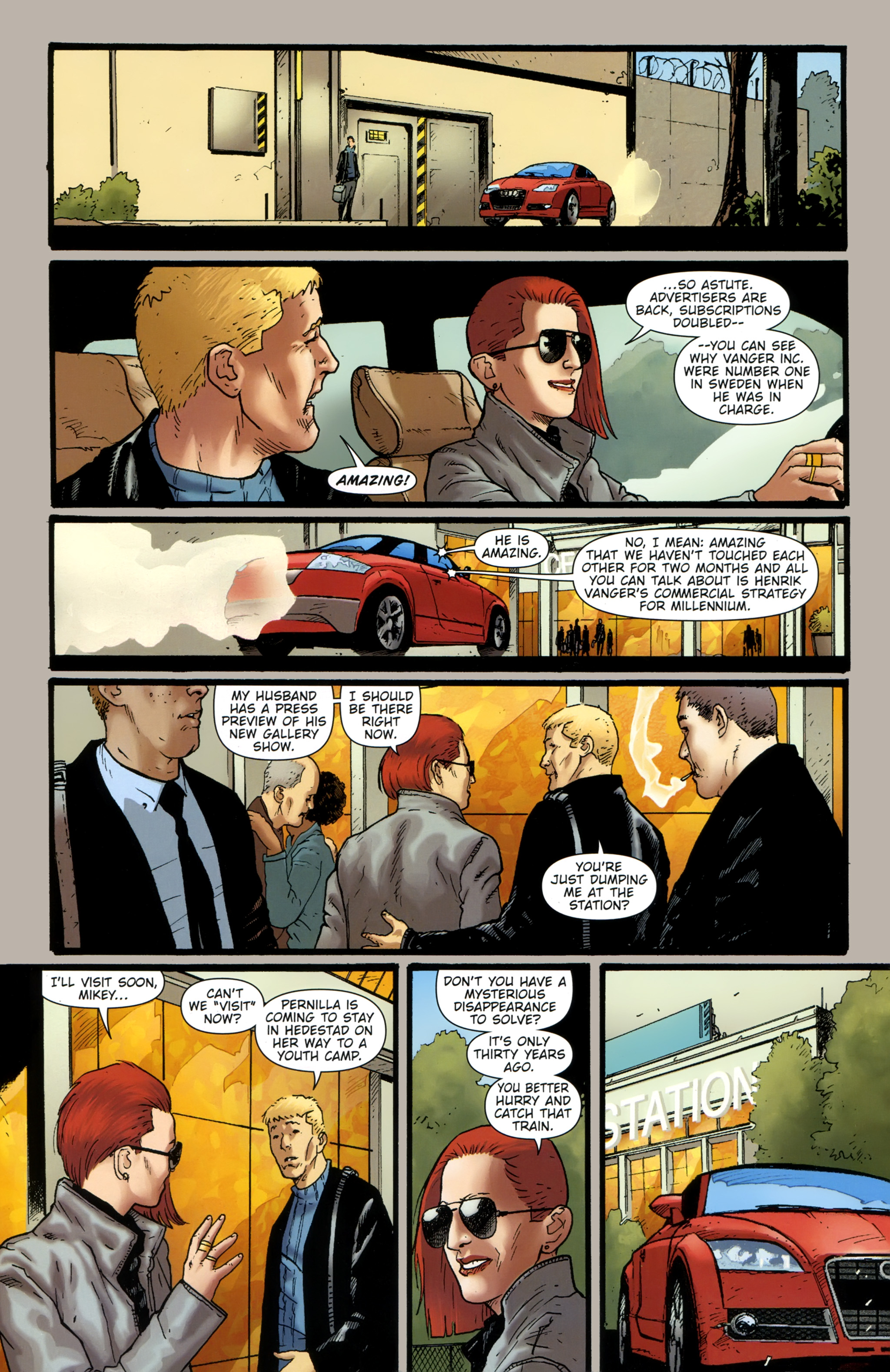 Read online The Girl With the Dragon Tattoo comic -  Issue # TPB 2 - 13
