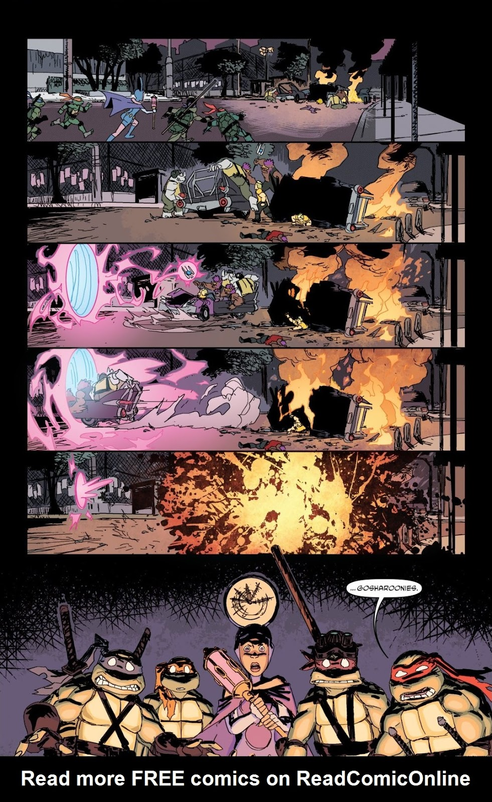 Read online Teenage Mutant Ninja Turtles: The IDW Collection comic -  Issue # TPB 8 (Part 1) - 48