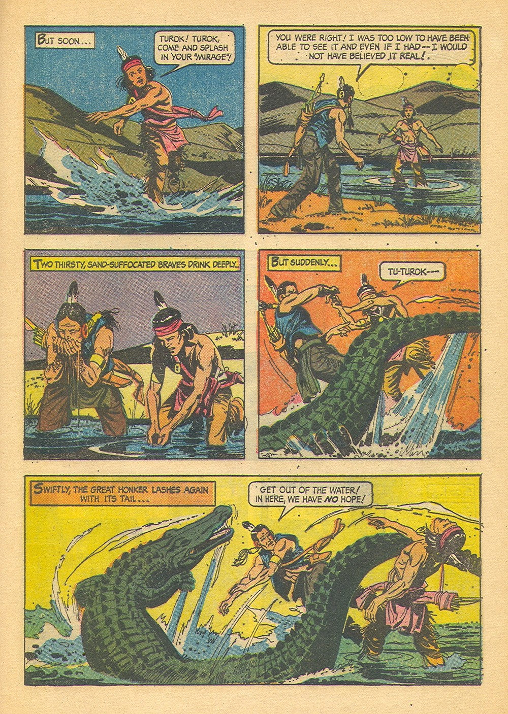 Read online Turok, Son of Stone comic -  Issue #42 - 29