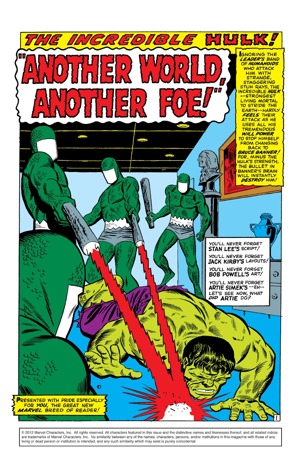Read online Marvel Masterworks: The Incredible Hulk comic -  Issue # TPB 2 (Part 2) - 68