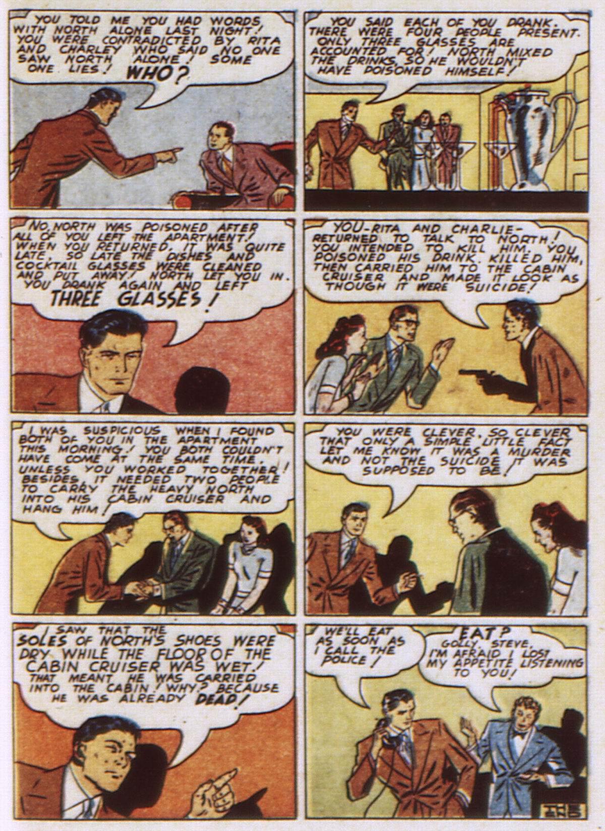 Read online Detective Comics (1937) comic -  Issue #52 - 57