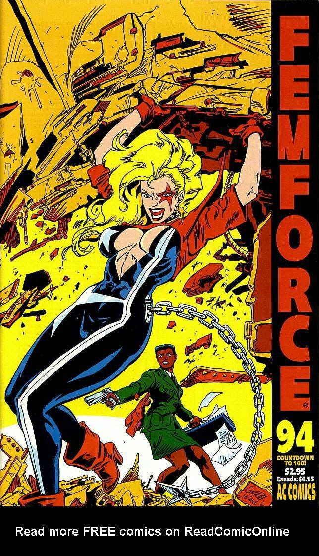 Femforce Issue #94 #94 - English 1
