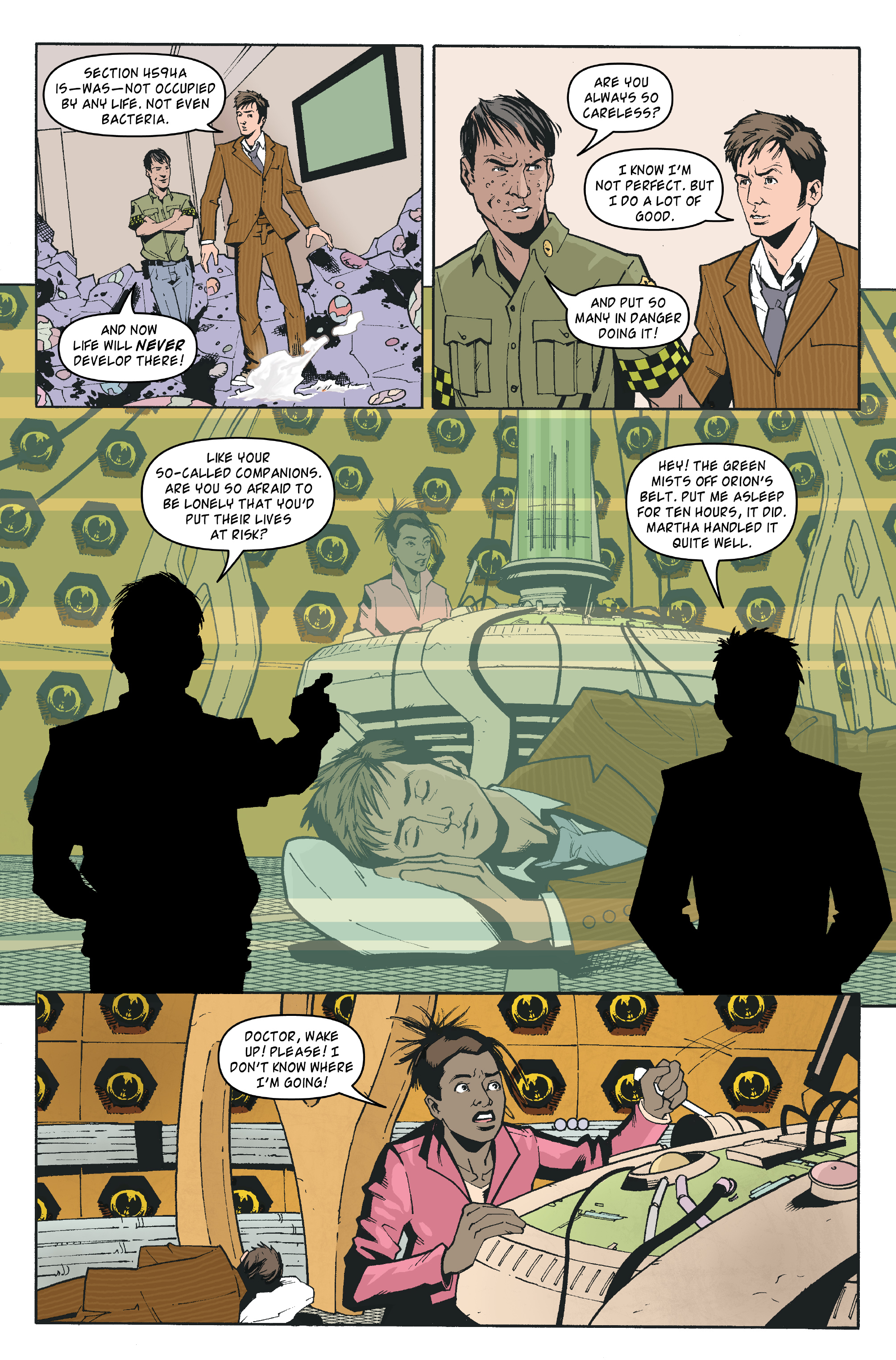 Read online Doctor Who: The Tenth Doctor Archives comic -  Issue #35 - 18
